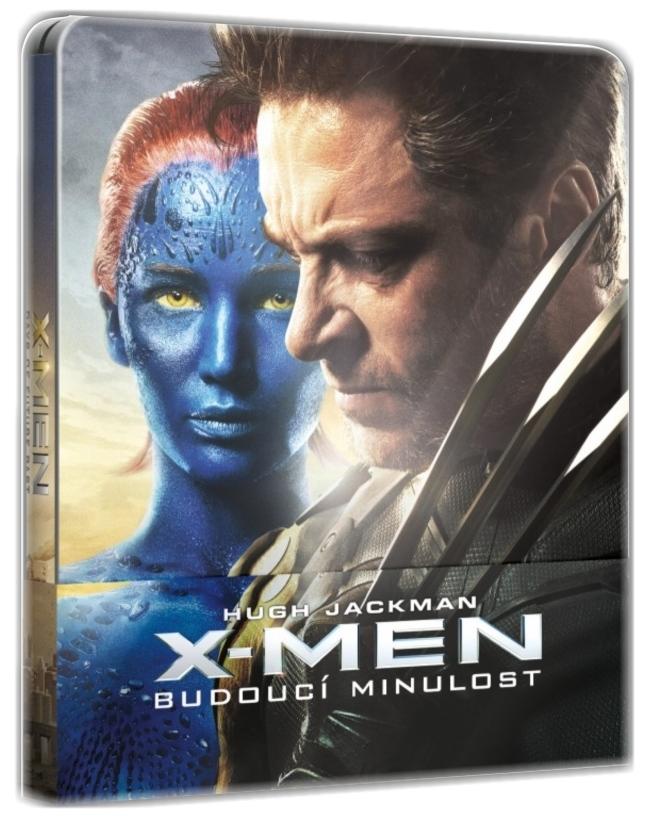 X-MEN: BUDOUCÍ MINULOST - Blu-ray 3D + 2D STEELBOOK