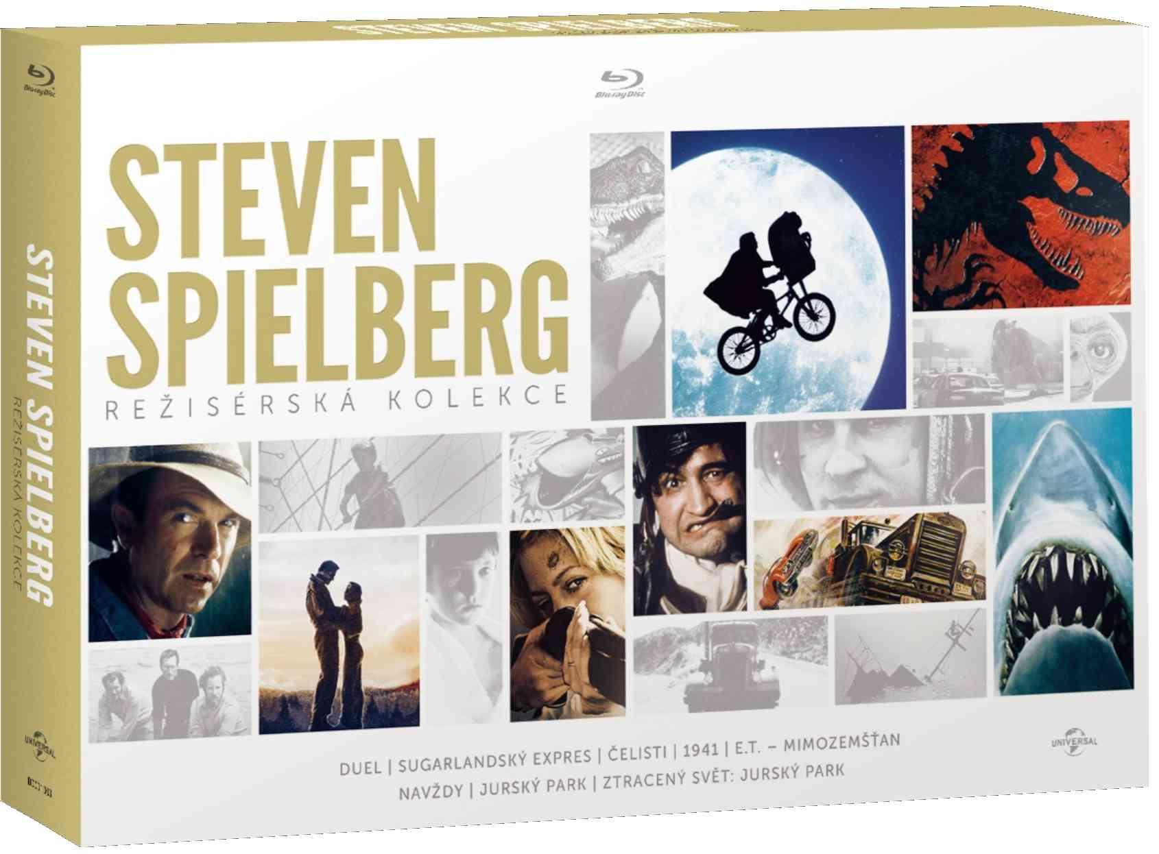 STEVEN SPIELBERG - REŽISÉRSKÁ KOLEKCE (8 BD) - Blu-ray
