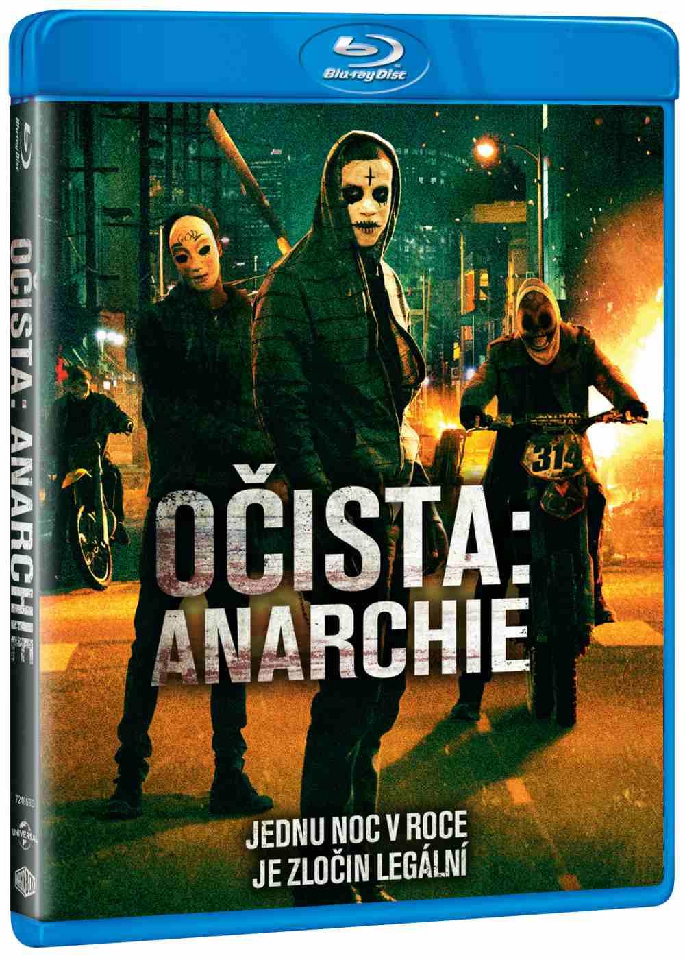 OČISTA: ANARCHIE - Blu-ray