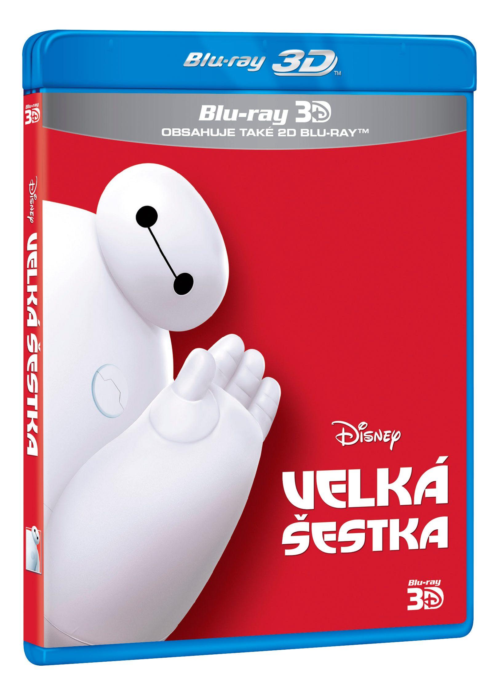 VELKÁ ŠESTKA - Blu-ray 3D + 2D