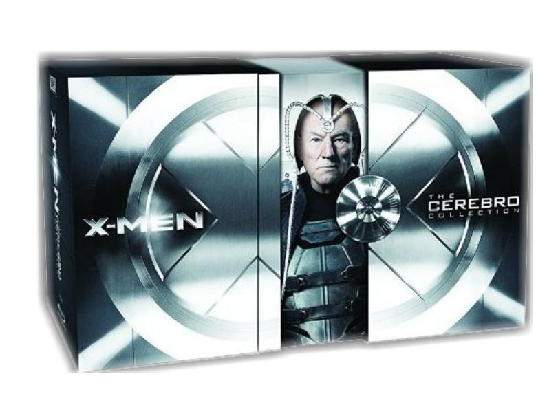 X-MEN: CEREBRO DOORS KOLEKCE (8 BD) - Blu-ray