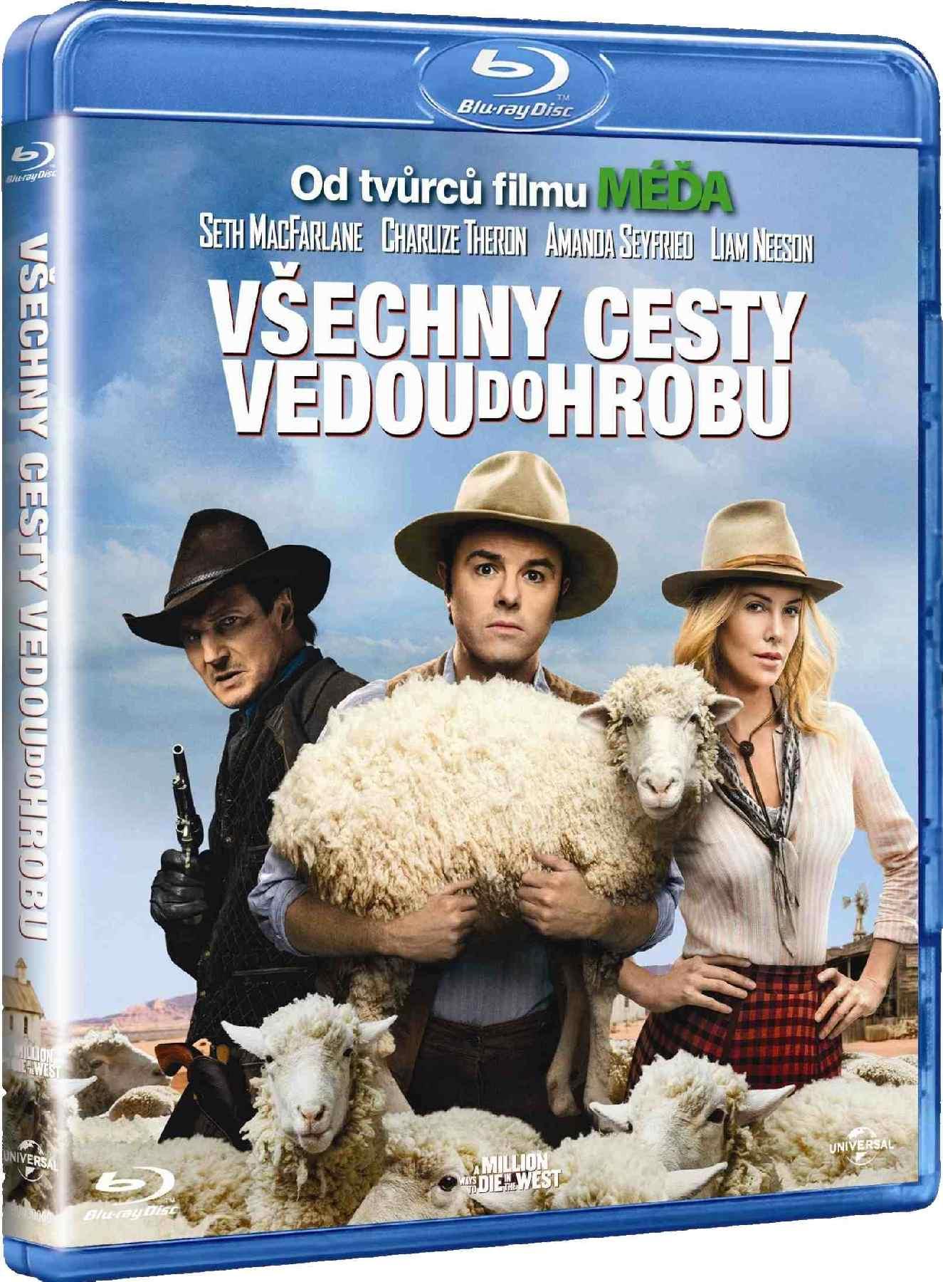 VŠECHNY CESTY VEDOU DO HROBU (Limitovaná edice s plyšákem) - Blu-ray