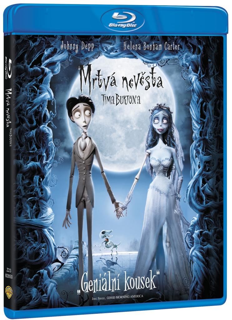 Mrtvá nevěsta Tima Burtona - Blu-ray