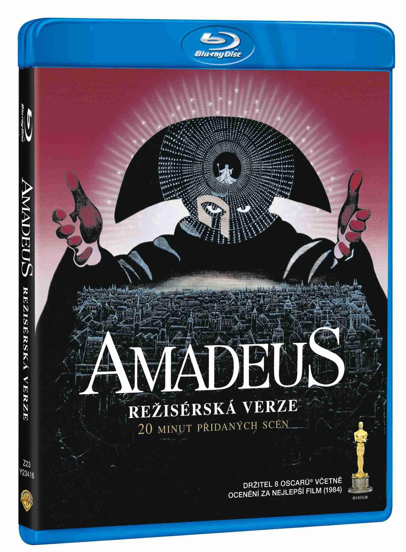 AMADEUS (Režisérská verze) - Blu-ray