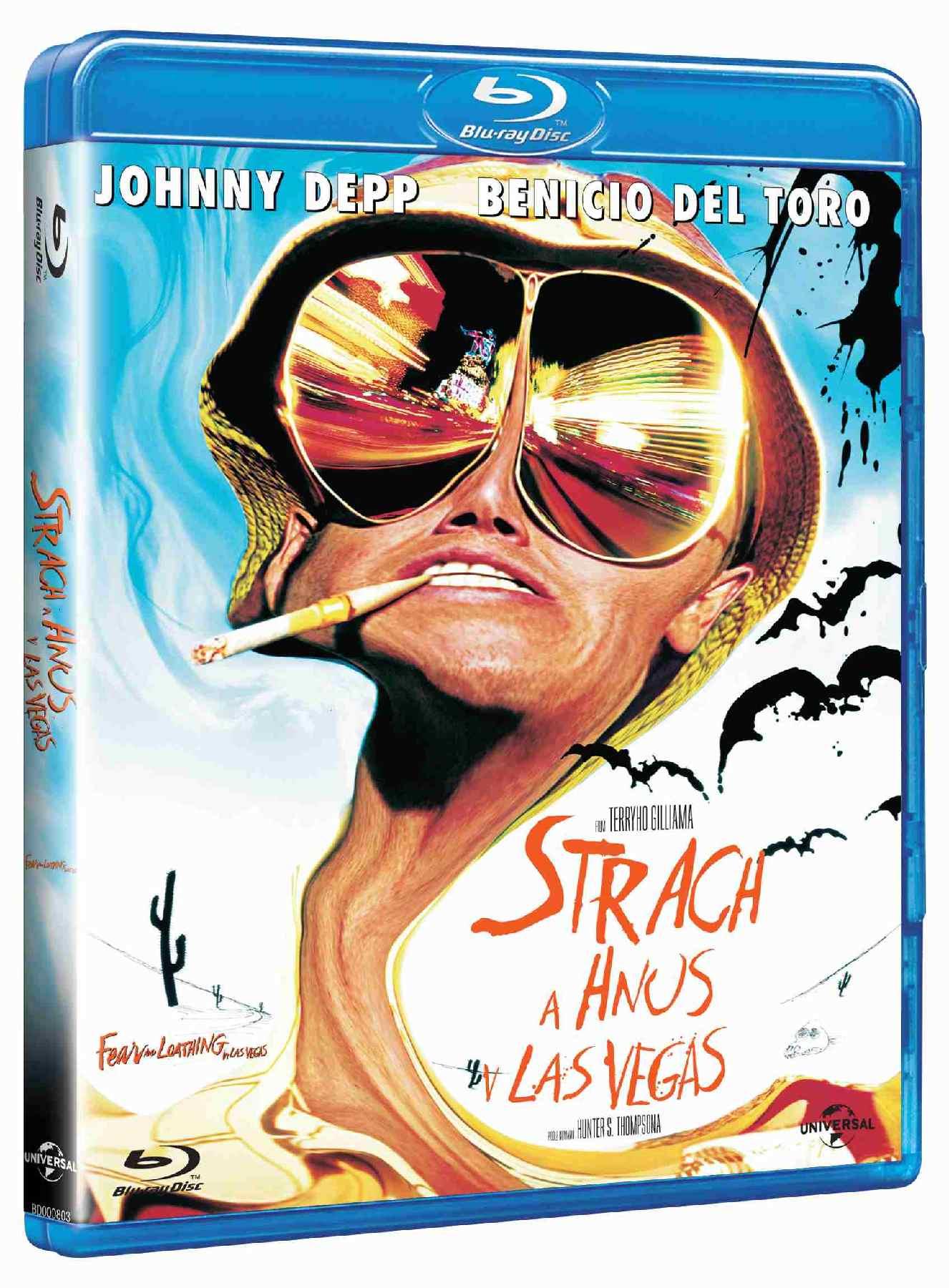STRACH A HNUS V LAS VEGAS - Blu-ray