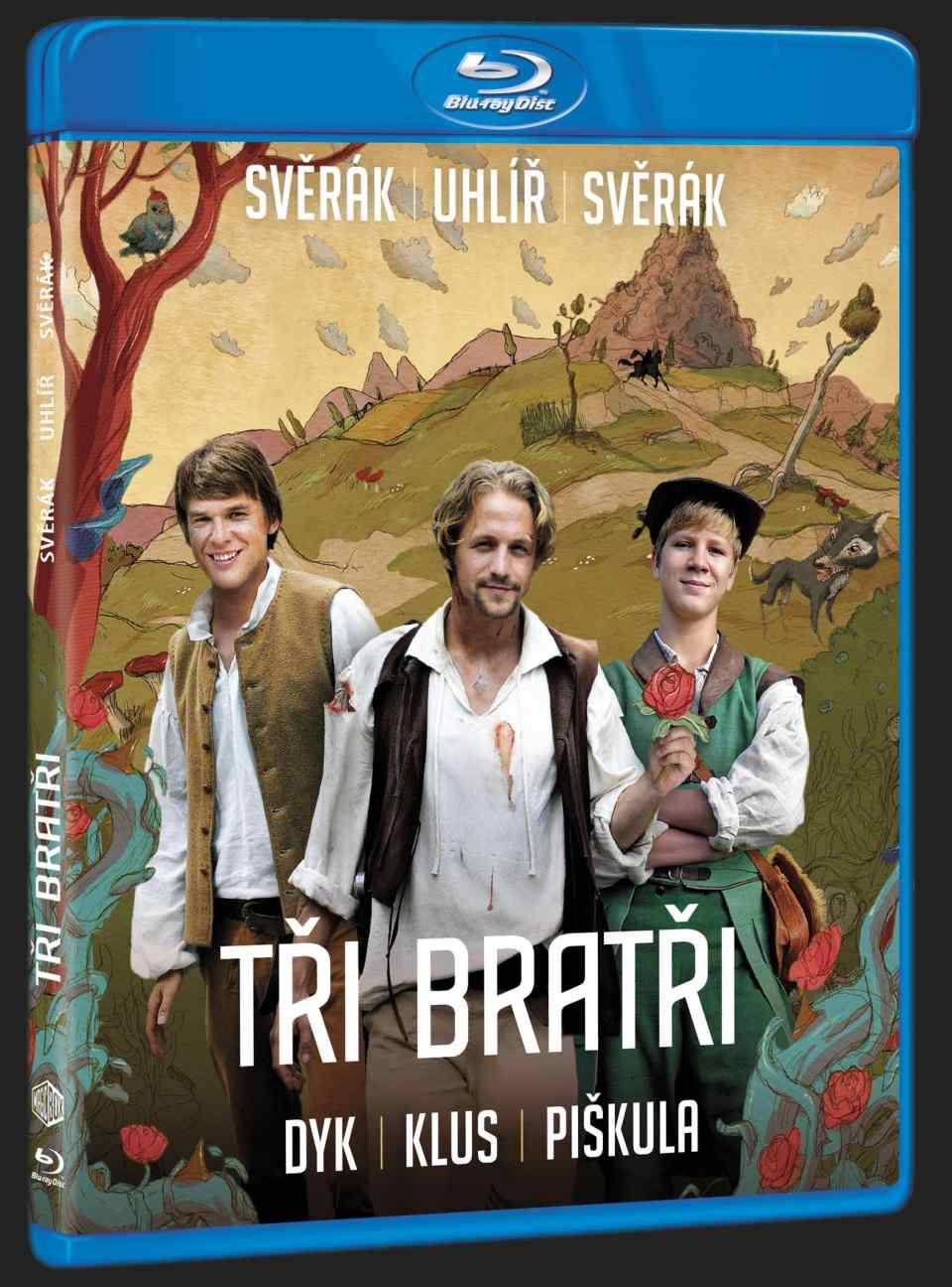 TŘI BRATŘI - Blu-ray