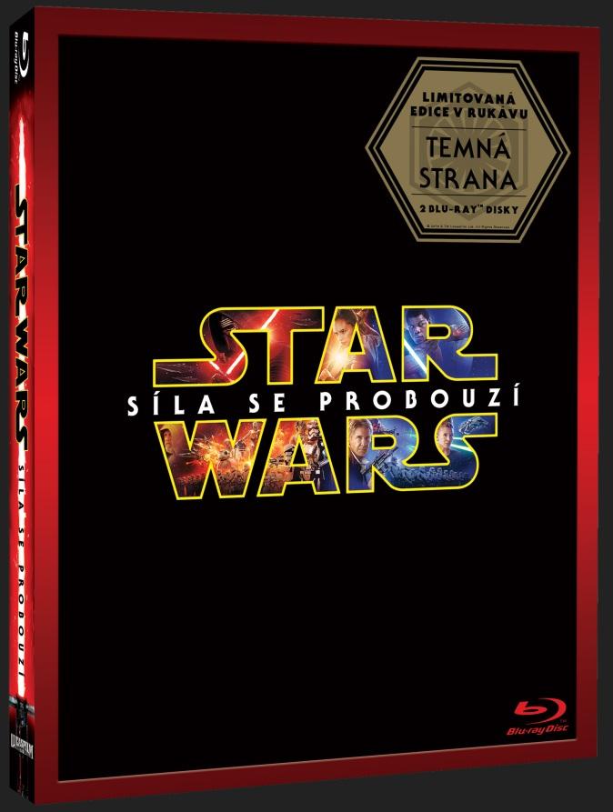 STAR WARS: SÍLA SE PROBOUZÍ - DARKSIDE limitovaná edice (2 BD) - Blu-ray
