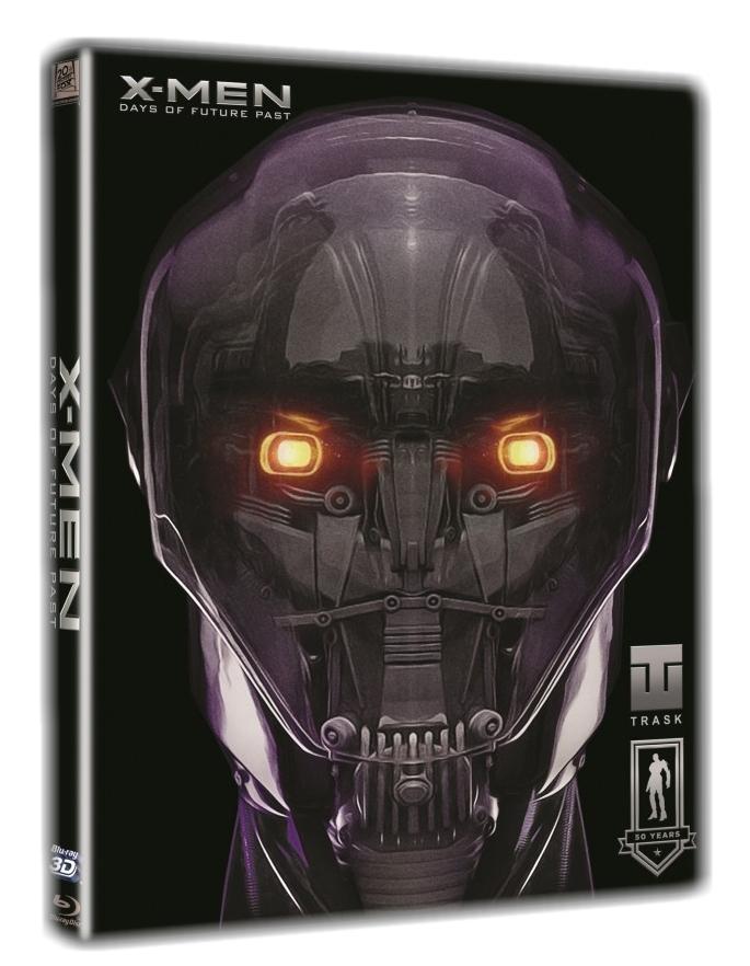 X-MEN: BUDOUCÍ MINULOST + slipcase + comic book - Blu-ray 3D + 2D