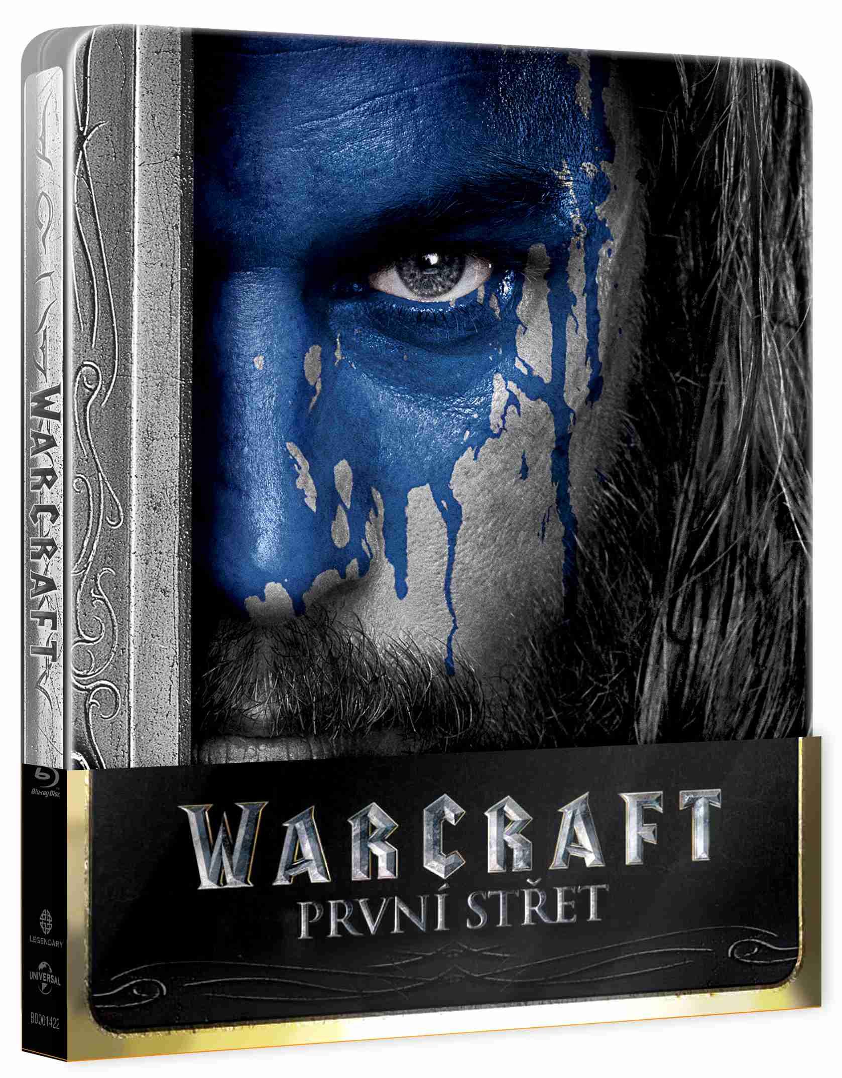 WARCRAFT: PRVNÍ STŘET - Blu-ray STEELBOOK