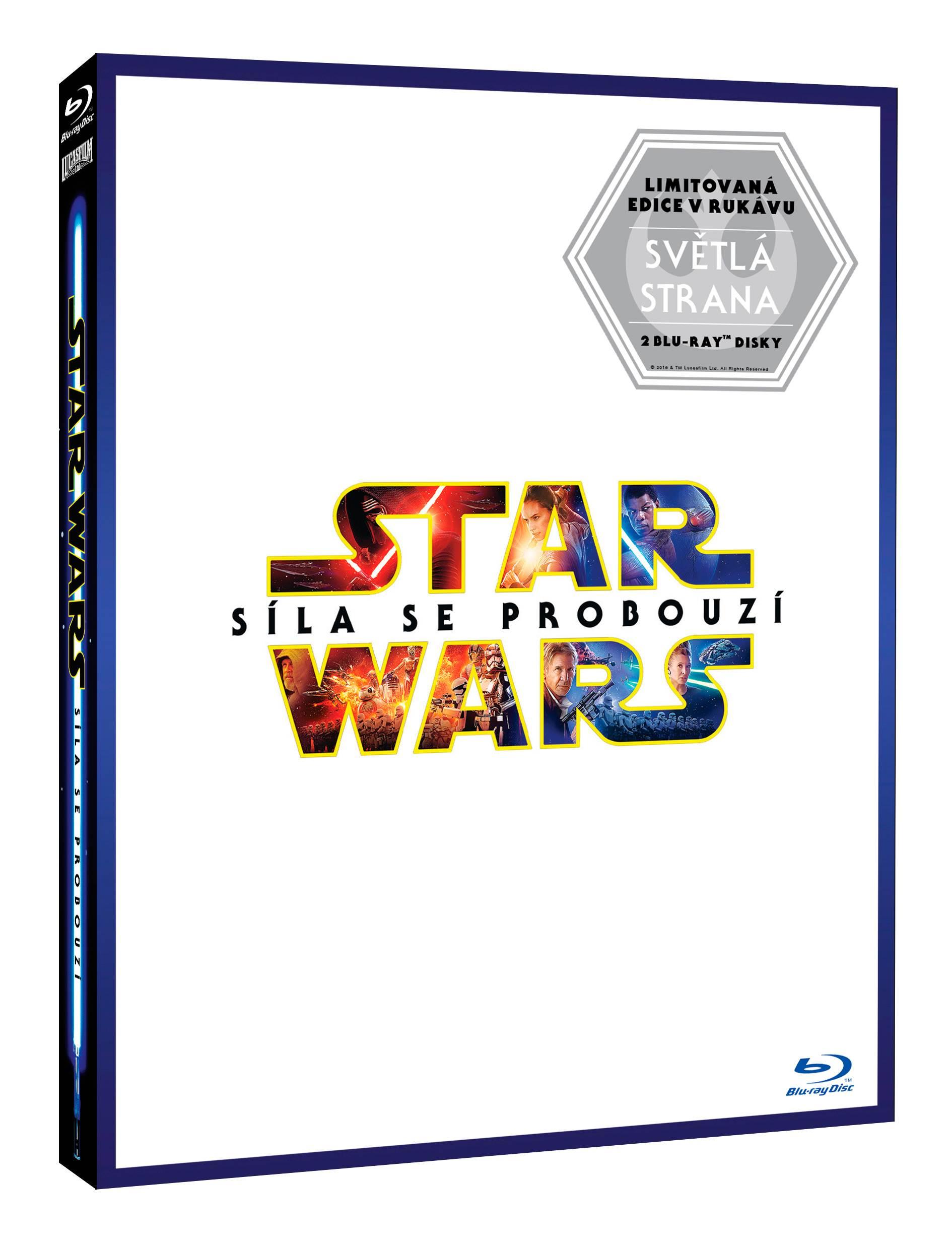 STAR WARS: SÍLA SE PROBOUZÍ - LIGHTSIDE limitovaná edice (2 BD) - Blu-ray
