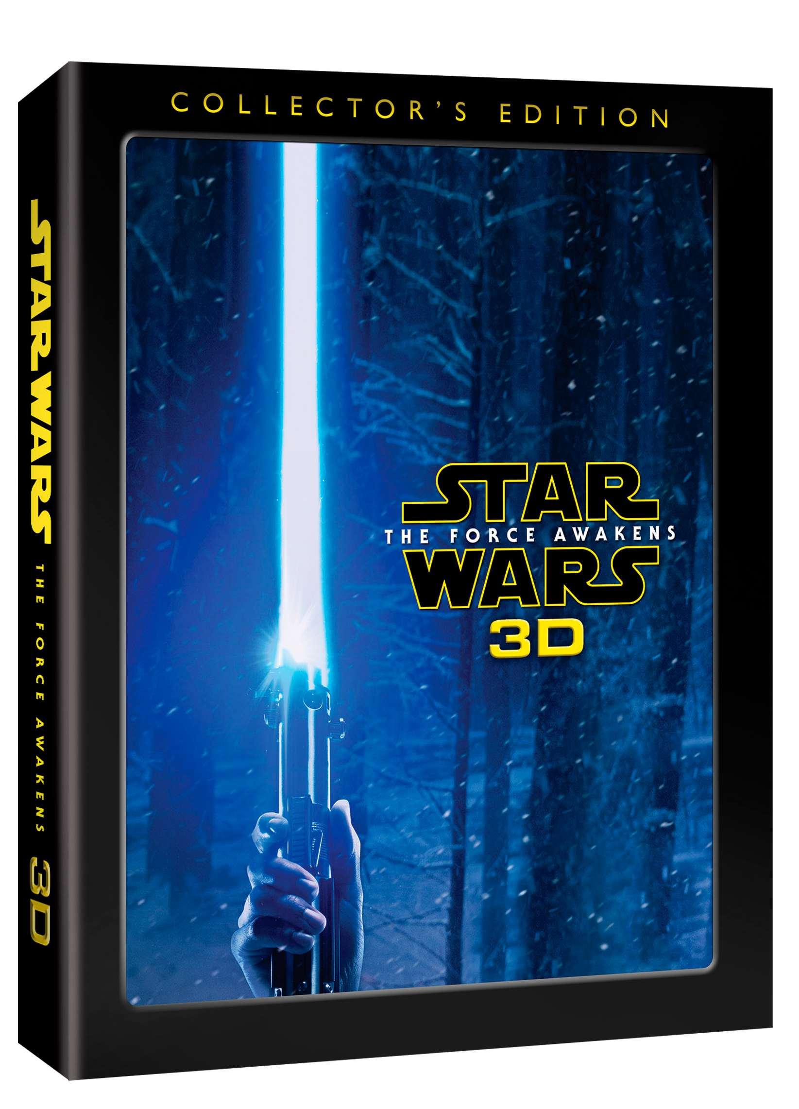 STAR WARS: SÍLA SE PROBOUZÍ - Blu-ray 3D + 2D Limitovaná sběratelská edice