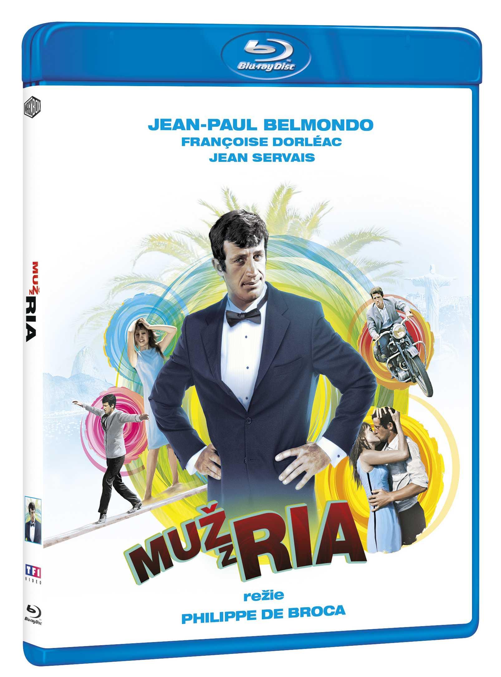 Muž z Ria - Blu-ray