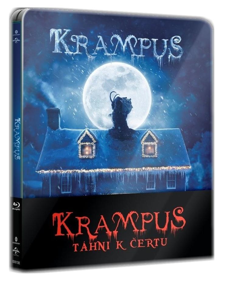 KRAMPUS: TÁHNI K ČERTU - Blu-ray STEELBOOK
