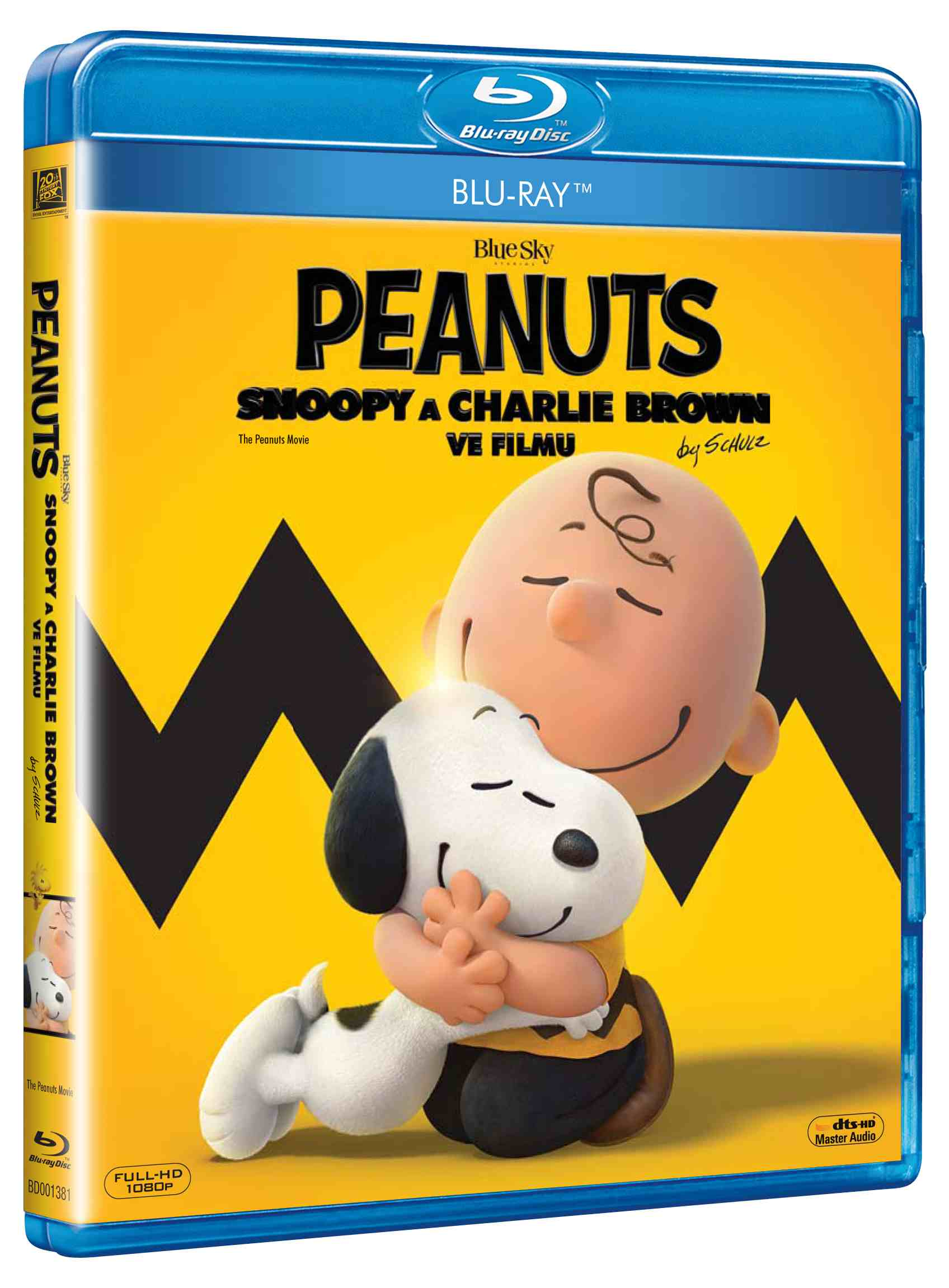 PEANUTS: SNOOPY A CHARLIE BROWN VE FILMU - Blu-ray
