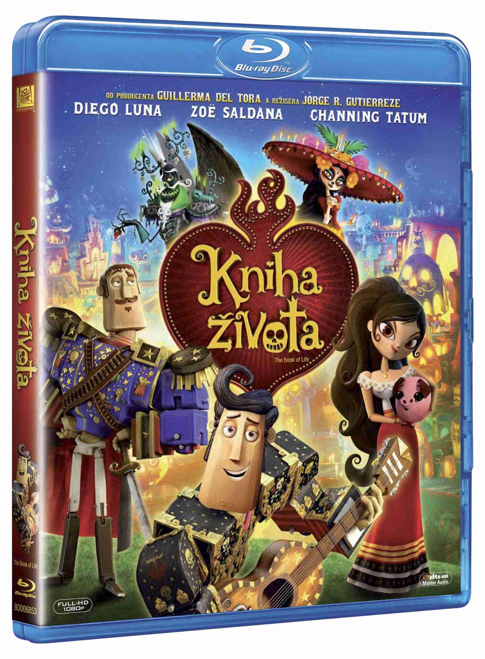 KNIHA ŽIVOTA - Blu-ray
