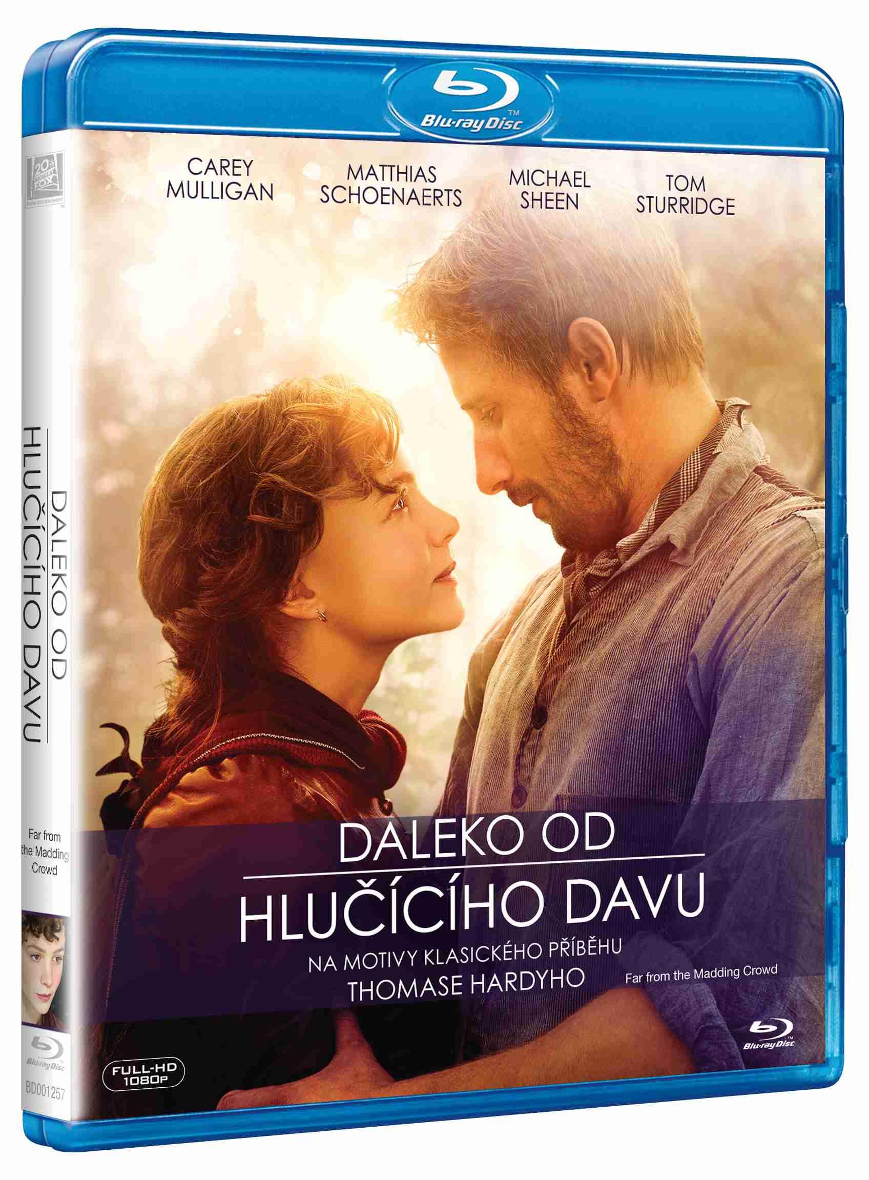 DALEKO OD HLUČÍCÍHO DAVU - Blu-ray