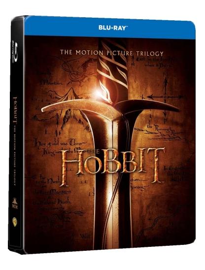 HOBIT 1-3 KOLEKCE (6 BD) - Blu-ray STEELBOOK