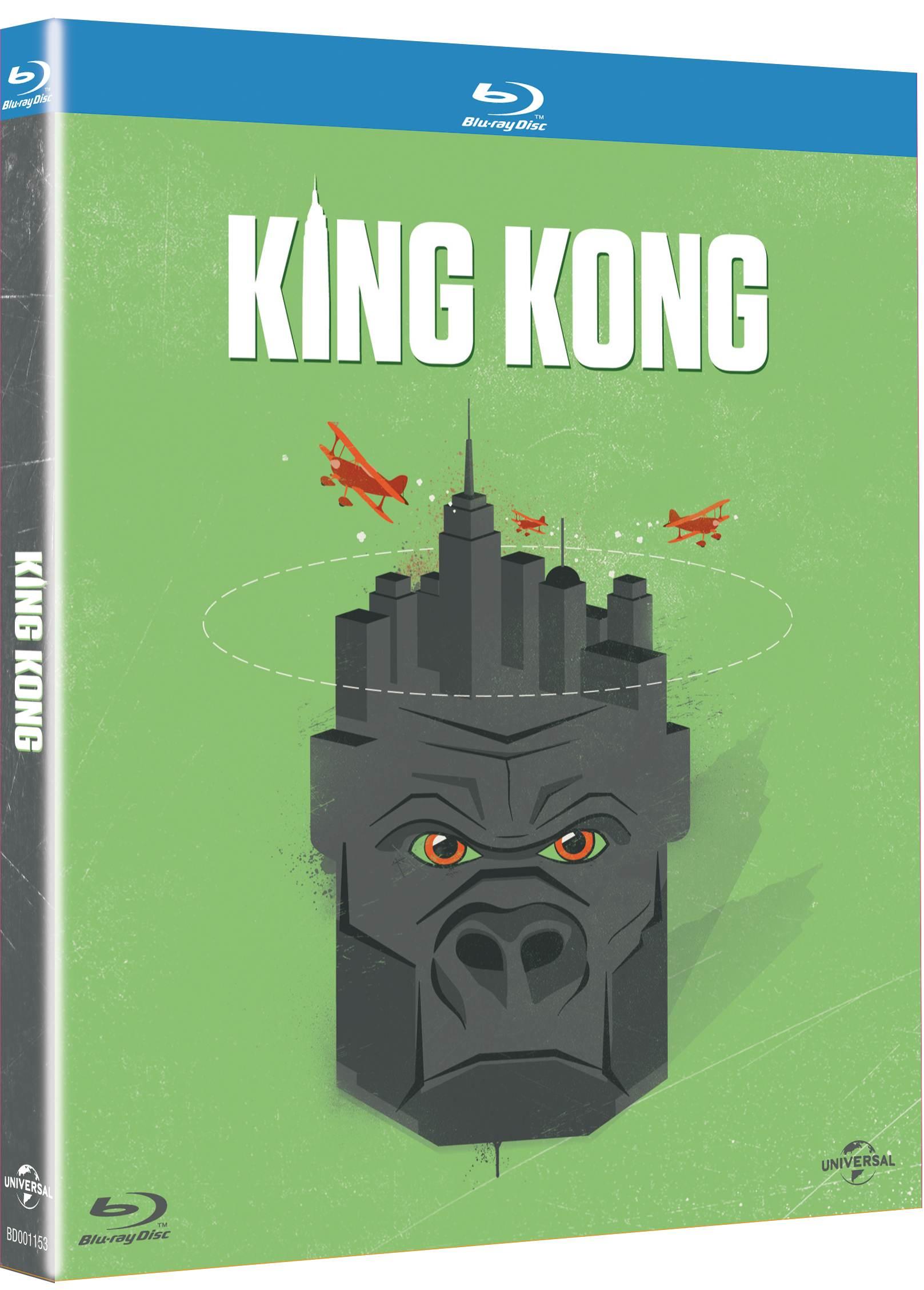 KING KONG (Nezapomenutelné filmy 2015) - Blu-ray
