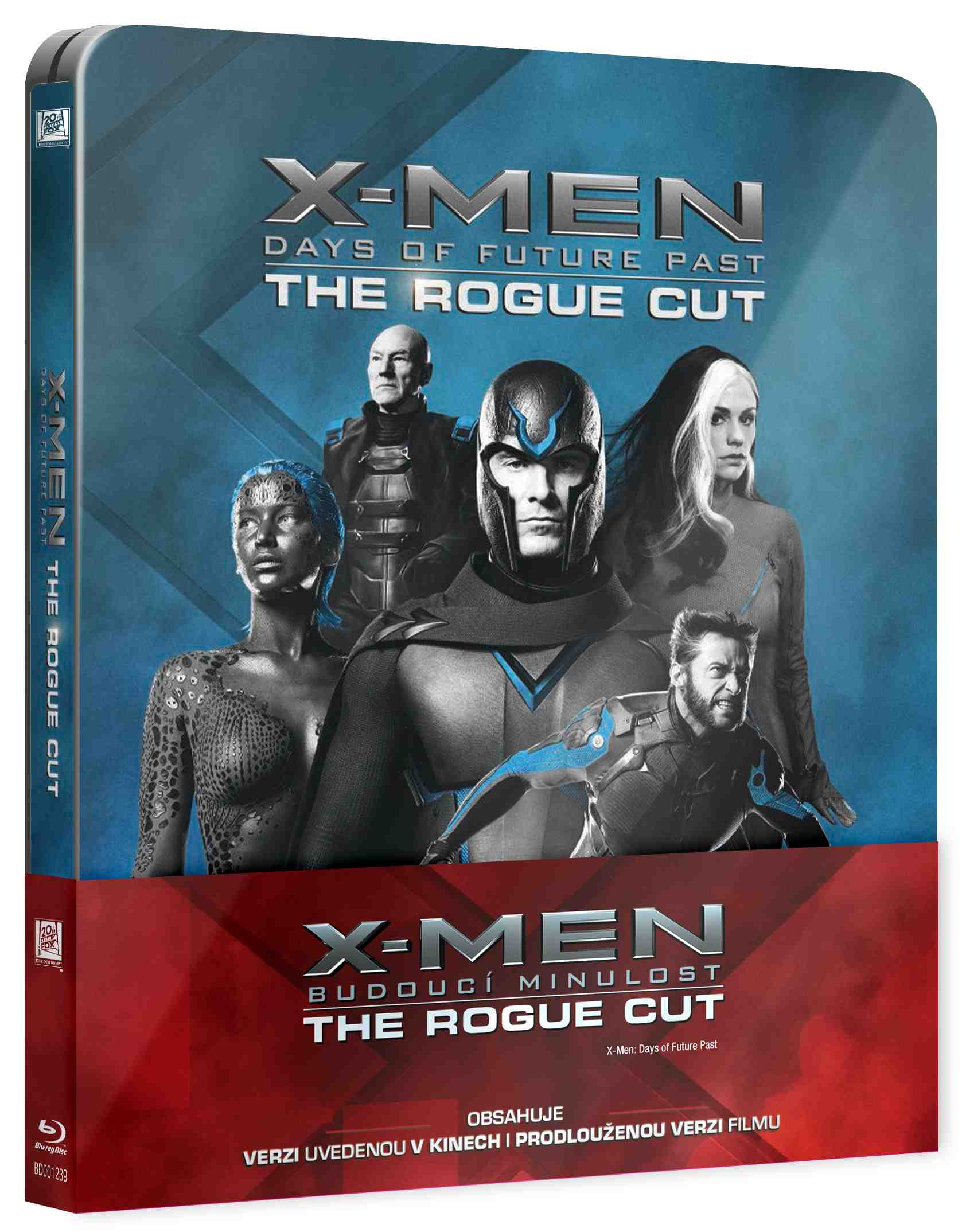 X-MEN: BUDOUCÍ MINULOST (The Rogue Cut) - Blu-ray STEELBOOK