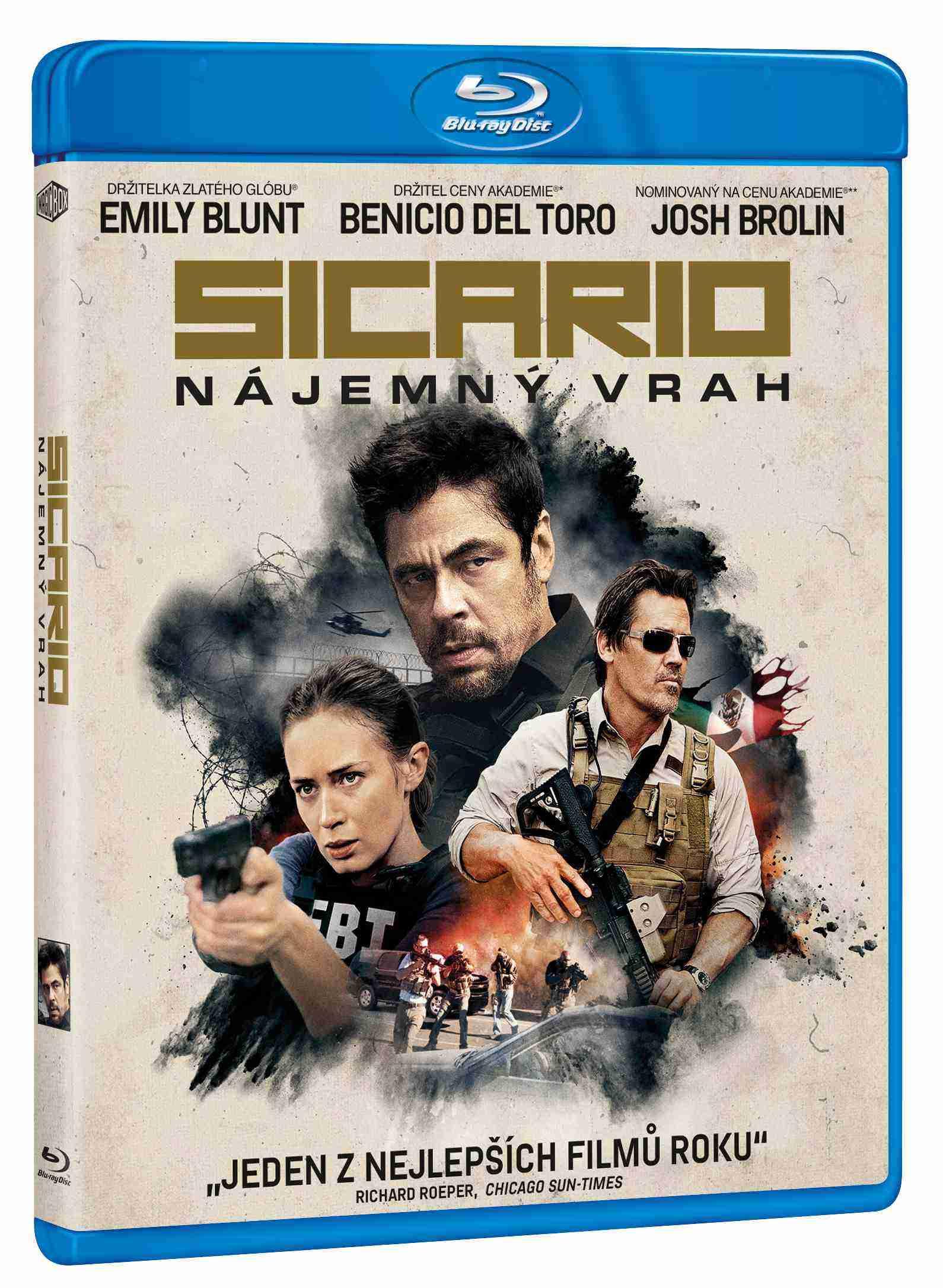 Sicario: Nájemný vrah - Blu-ray
