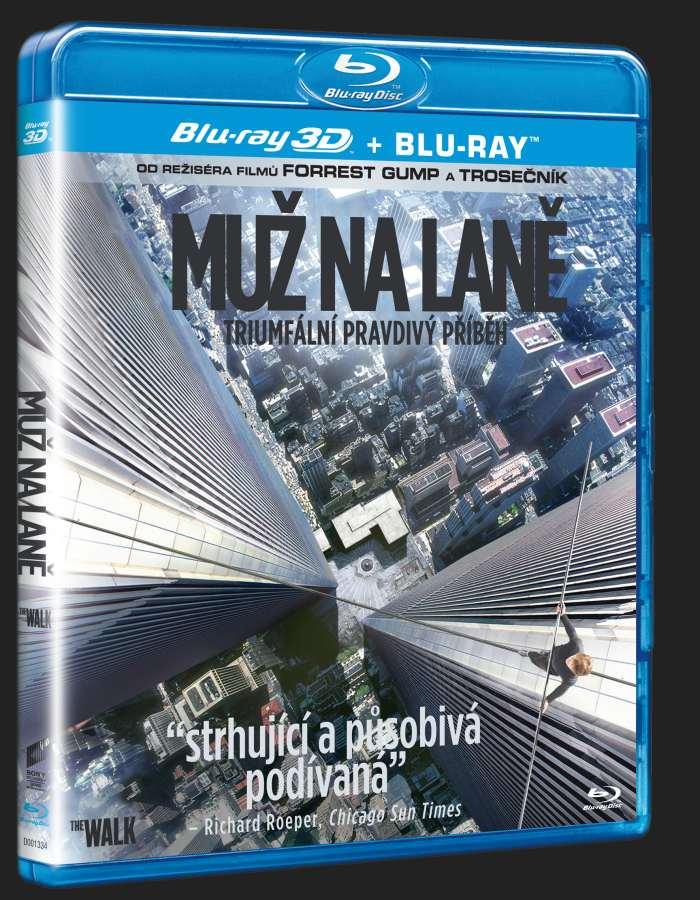 MUŽ NA LANĚ - Blu-ray 3D + 2D