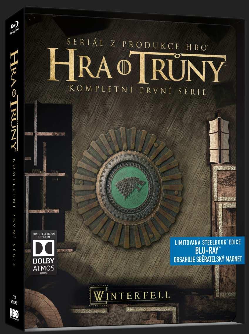 HRA O TRŮNY - 1. SÉRIE (5 BD) - Blu-ray STEELBOOK
