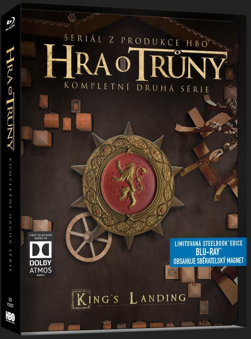 HRA O TRŮNY - 2. SÉRIE (5 BD) - Blu-ray STEELBOOK