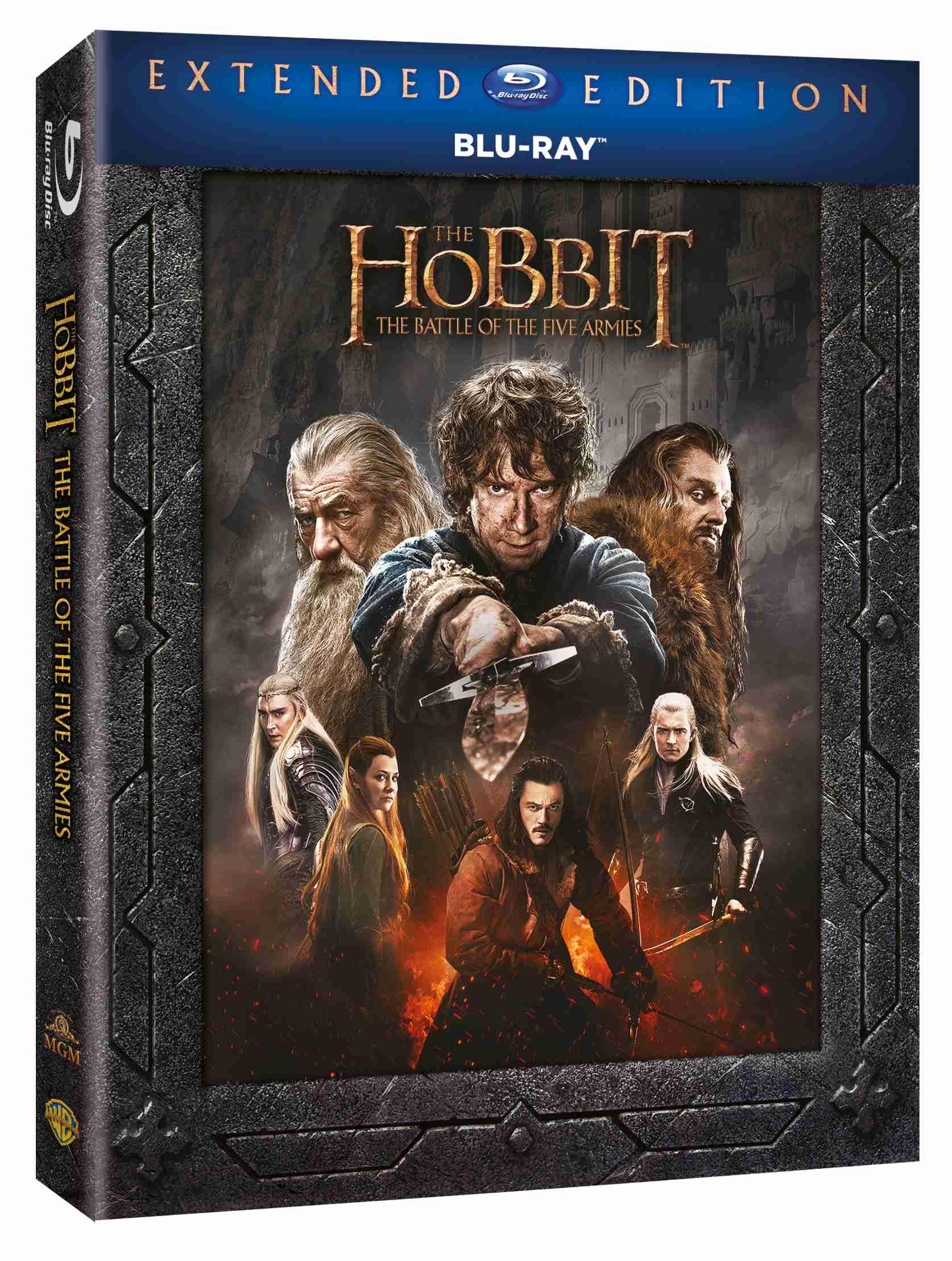 HOBIT: BITVA PĚTI ARMÁD (Prodloužená verze, 3 BD) - Blu-ray
