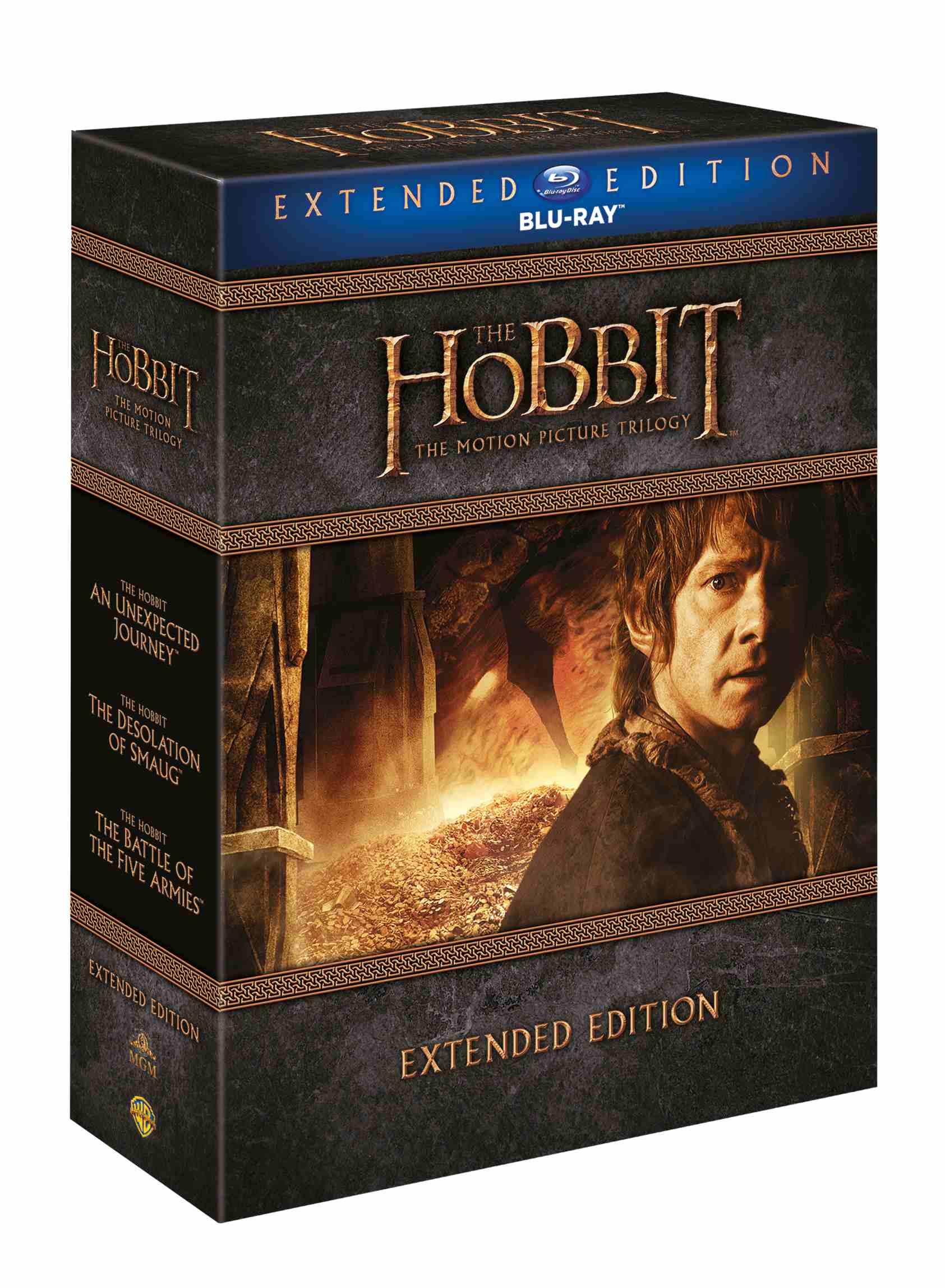 HOBIT 1-3 KOLEKCE (Prodloužená verze, 9 BD) - Blu-ray