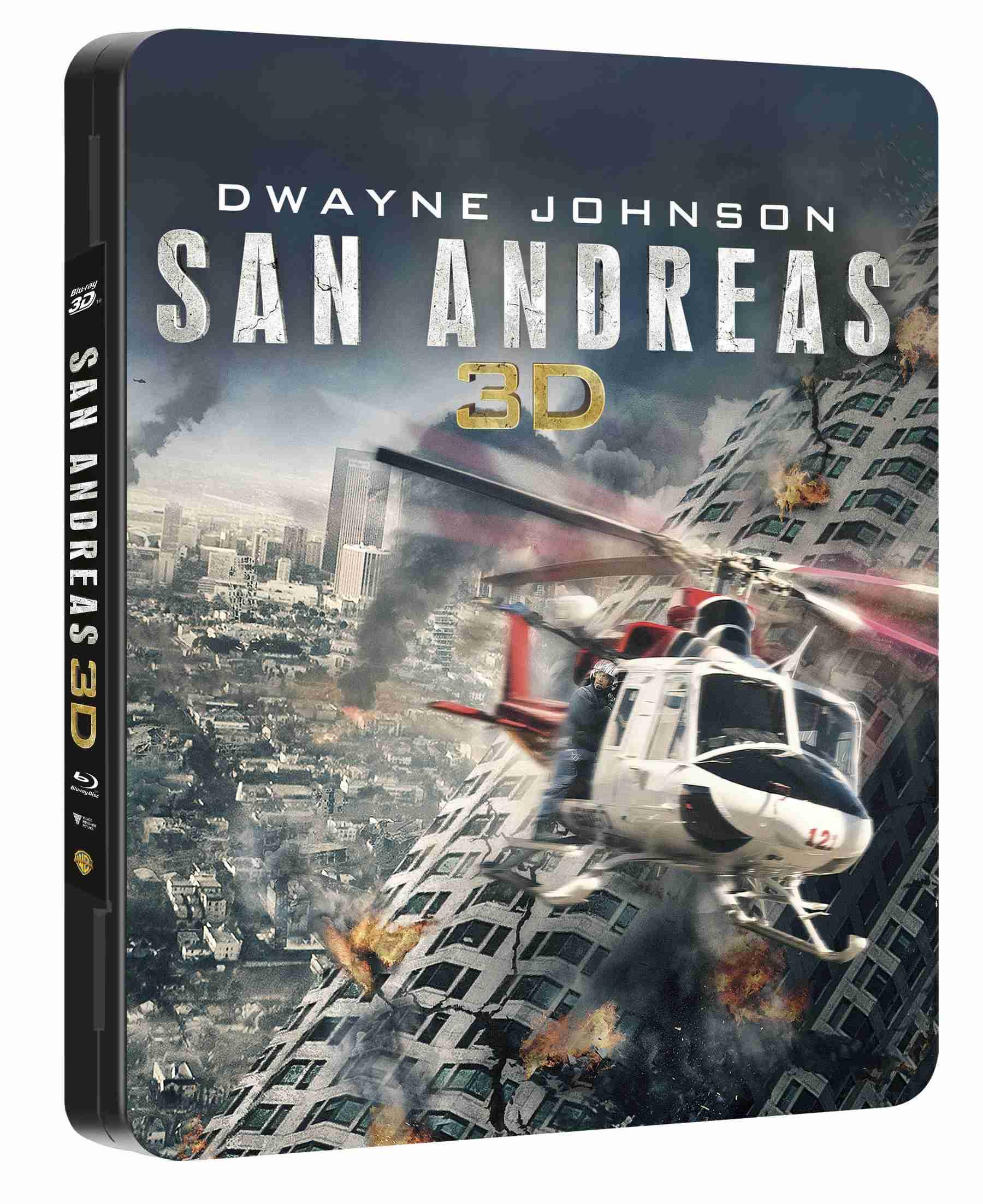 SAN ANDREAS - Blu-ray 3D + 2D Futurepak / Metalpak