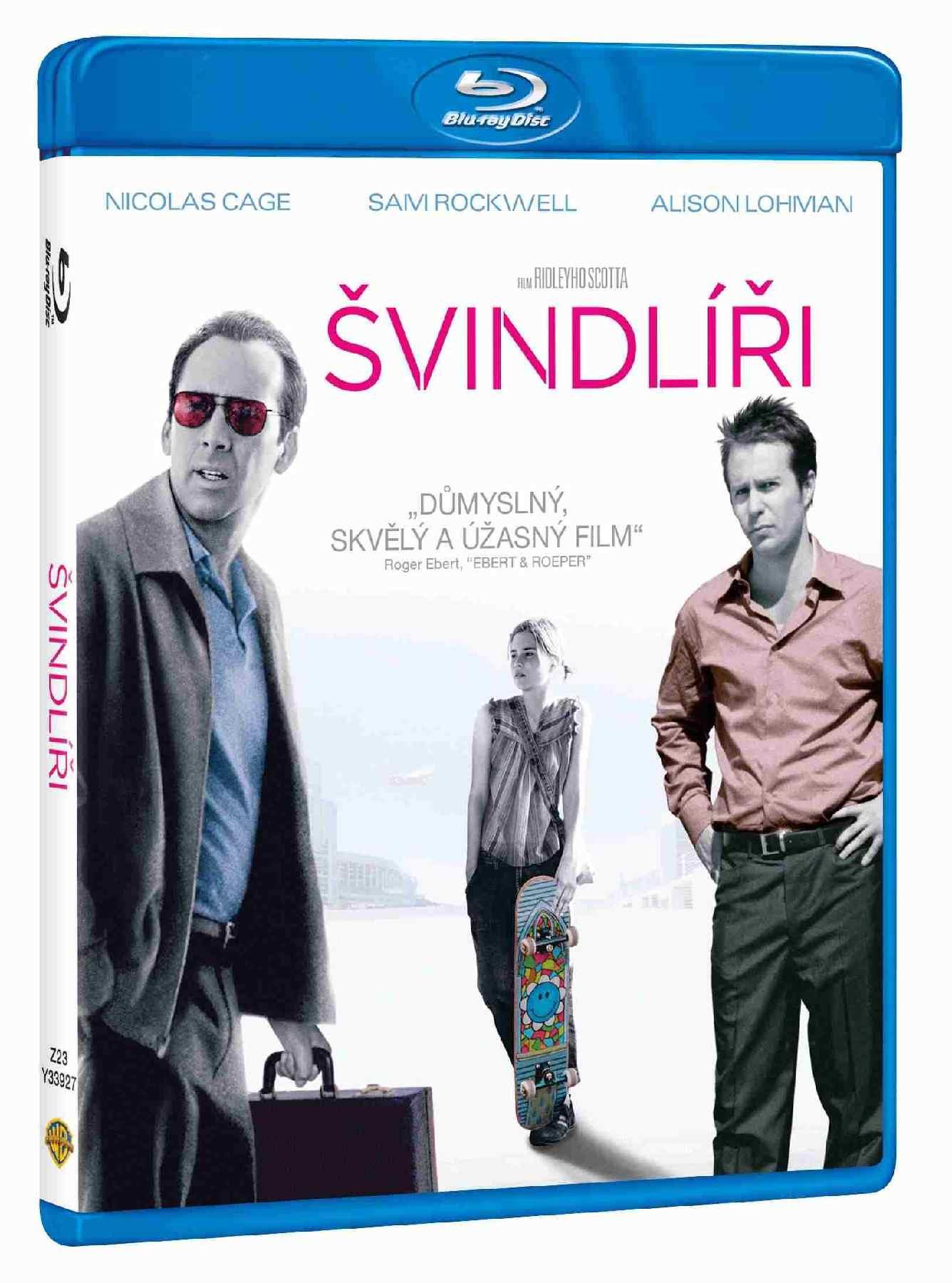 ŠVINDLÍŘI - Blu-ray