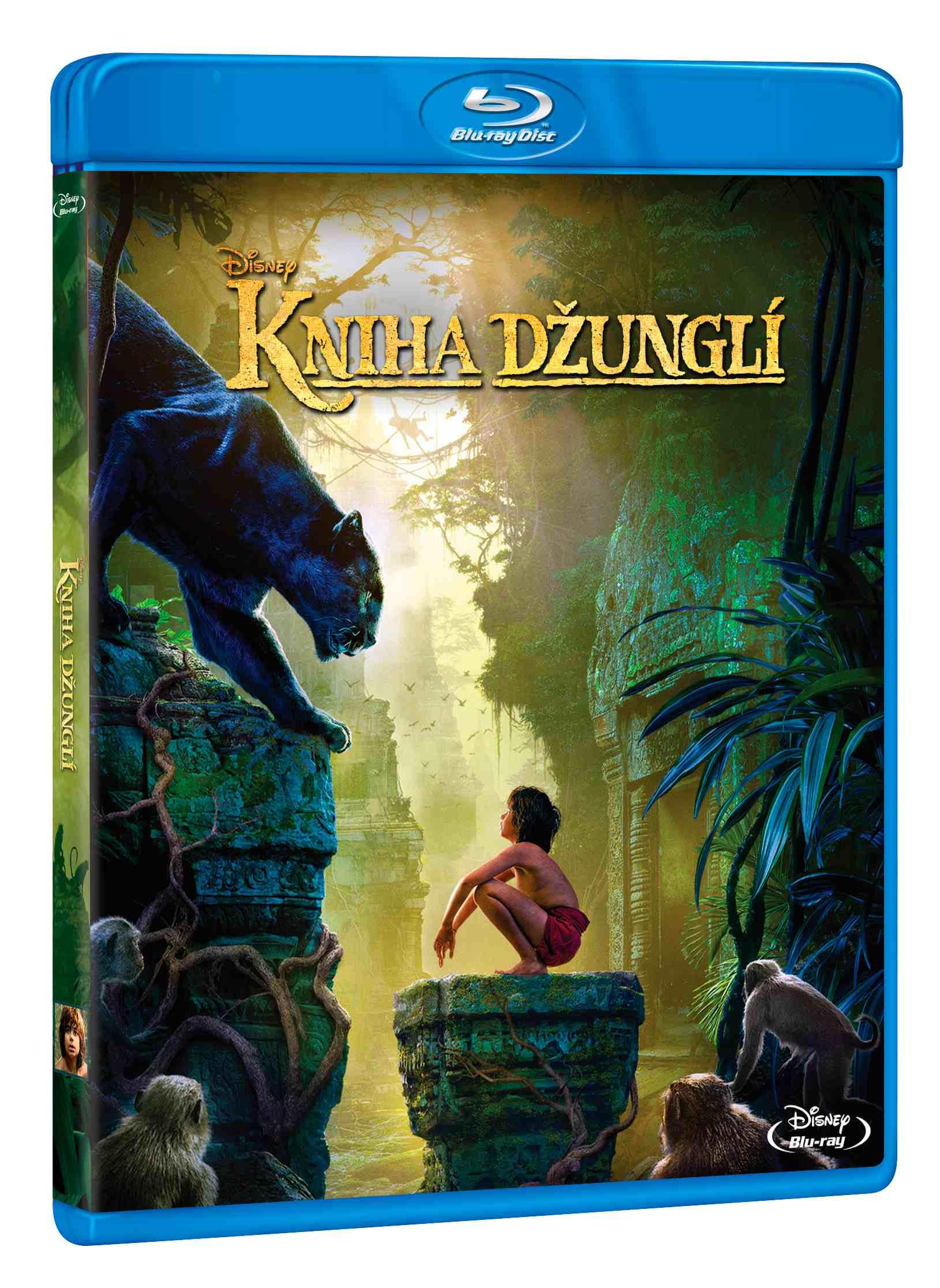 KNIHA DŽUNGLÍ (2016) - Blu-ray