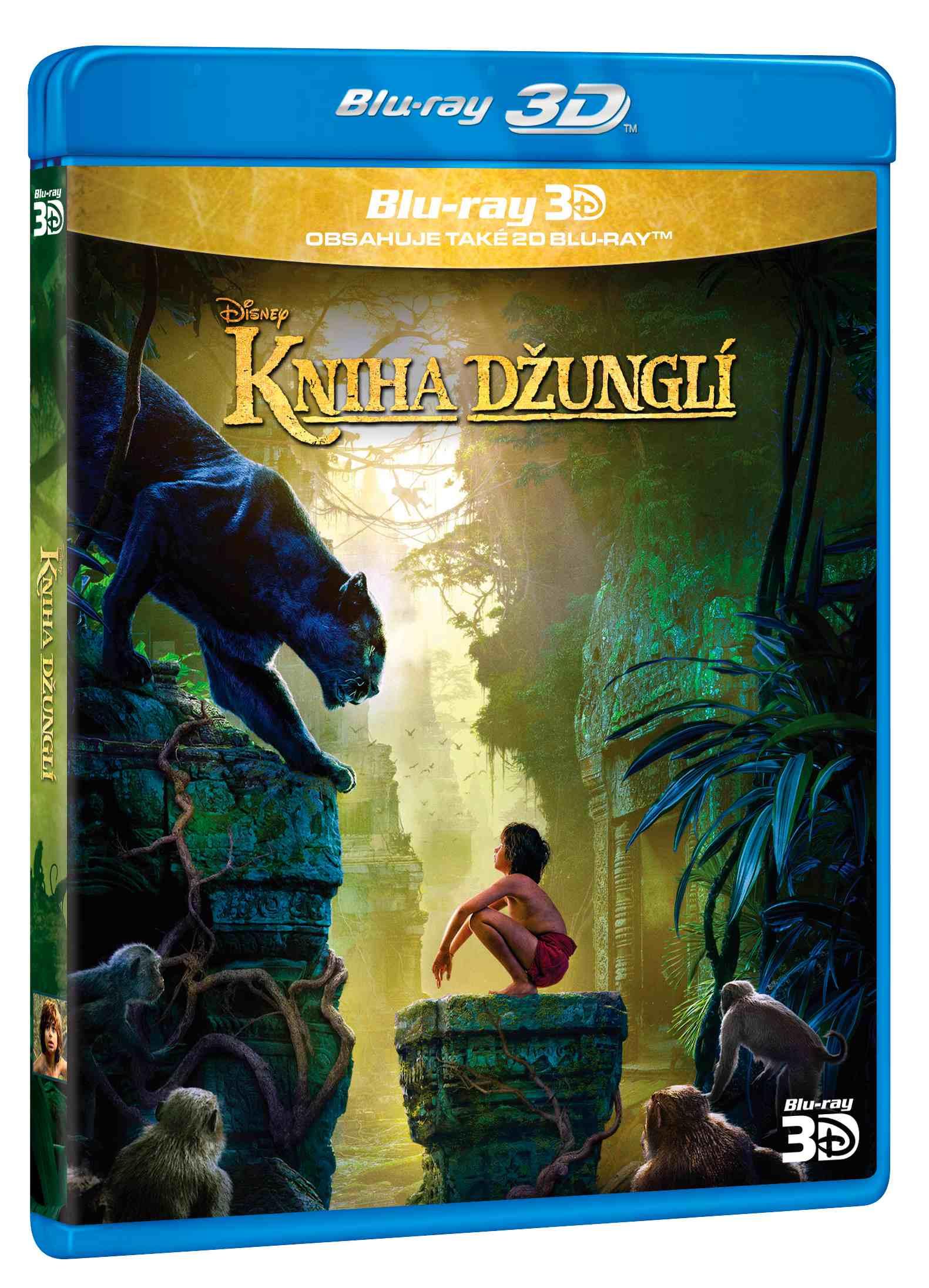 KNIHA DŽUNGLÍ (2016) - Blu-ray 3D + 2D