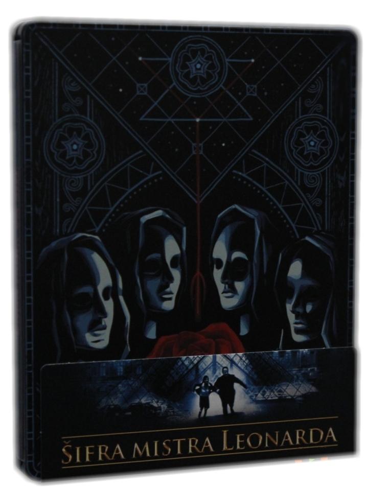 ŠIFRA MISTRA LEONARDA (POP ART) - Blu-ray STEELBOOK