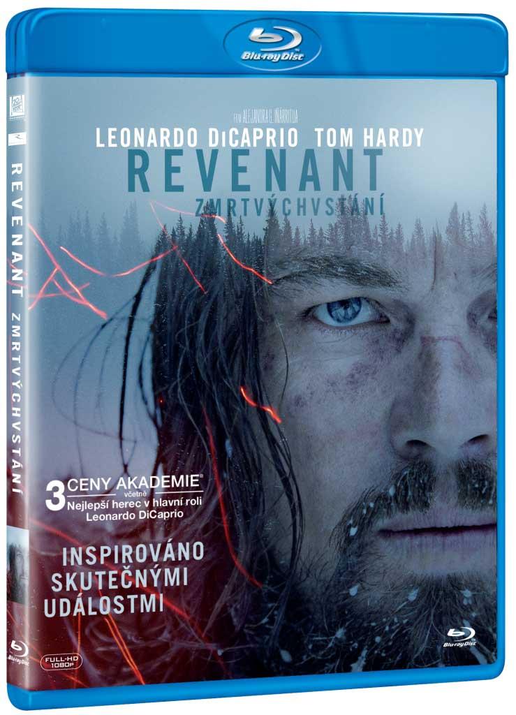 REVENANT Zmrtvýchvstání - Blu-ray