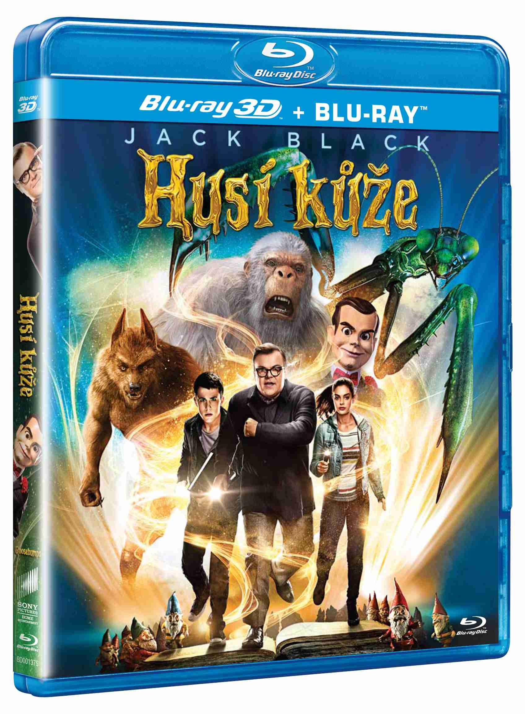 HUSÍ KŮŽE - Blu-ray 3D + 2D