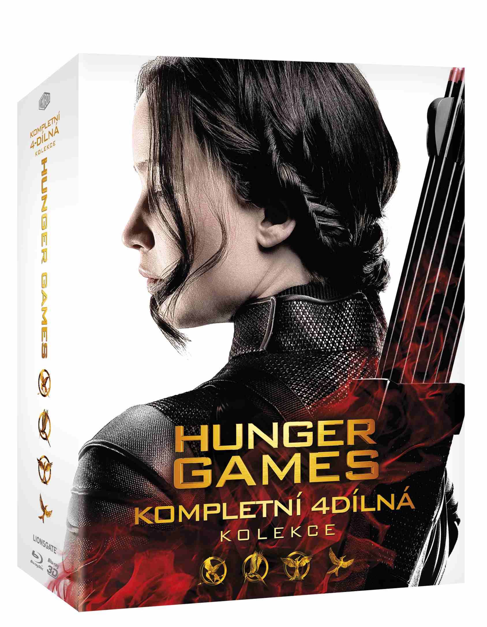 HUNGER GAMES 1-4 KOLEKCE (5 BD) - Blu-ray