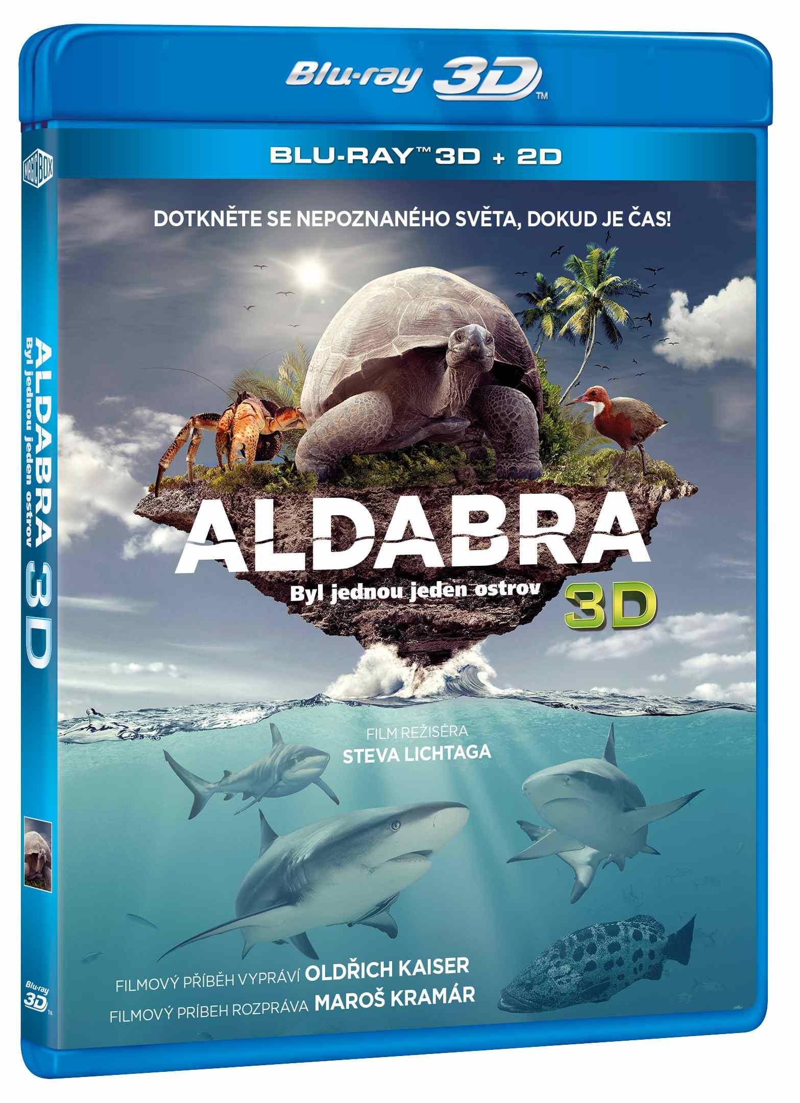 ALDABRA: BYL JEDNOU JEDEN OSTROV - Blu-ray 3D + 2D