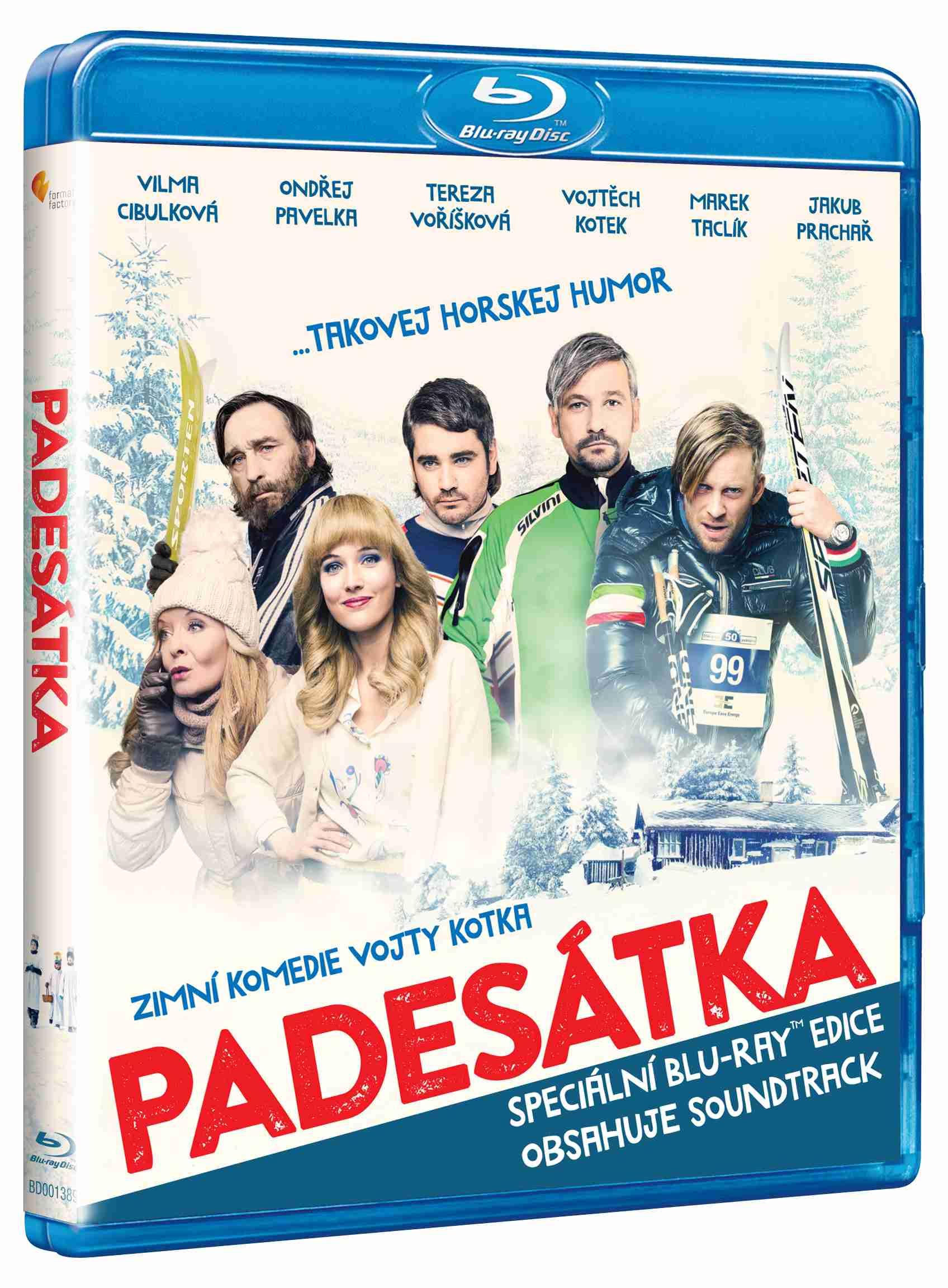 PADESÁTKA - Blu-ray + CD