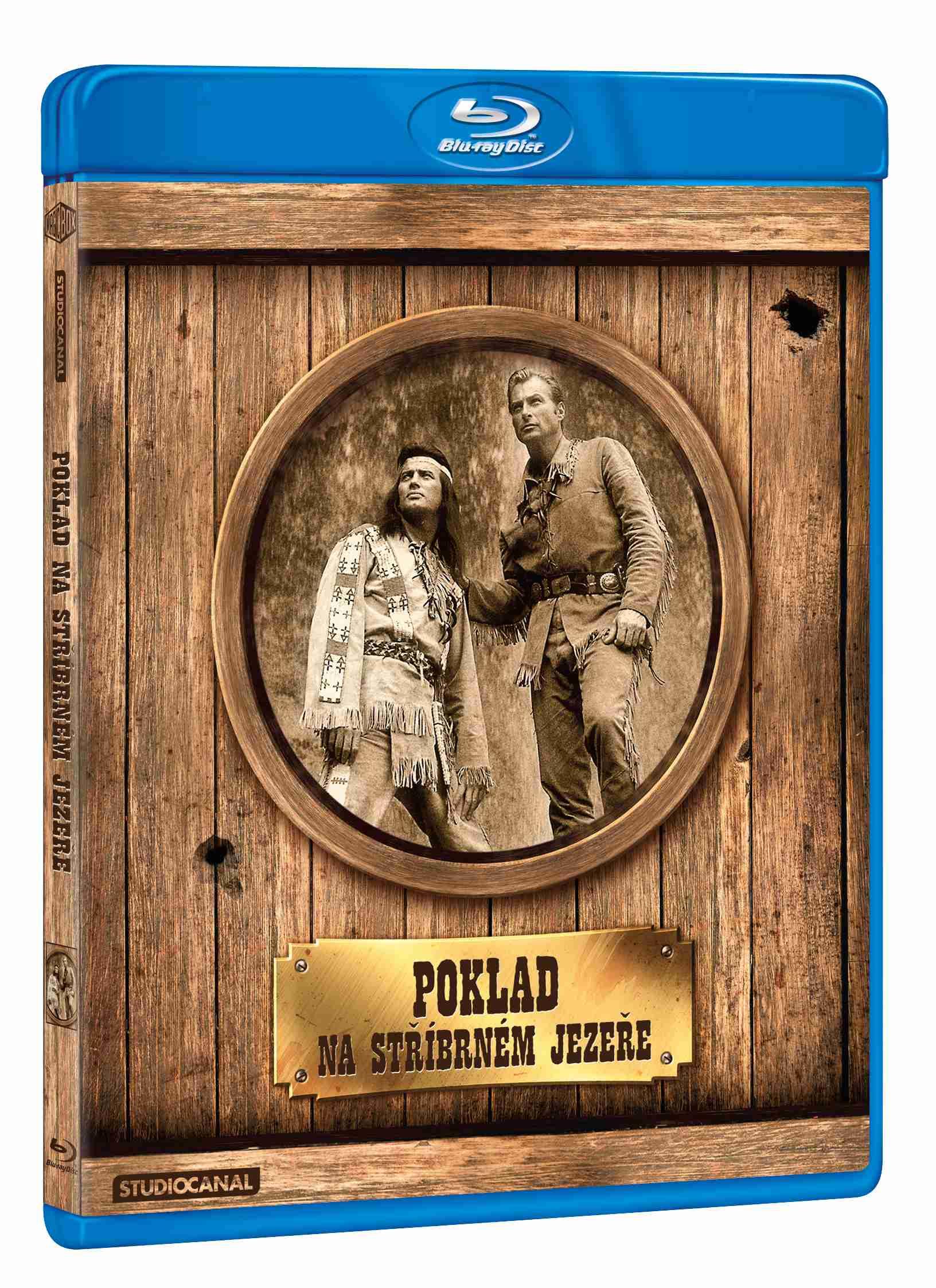 POKLAD NA STŘÍBRNÉM JEZEŘE - Blu-ray