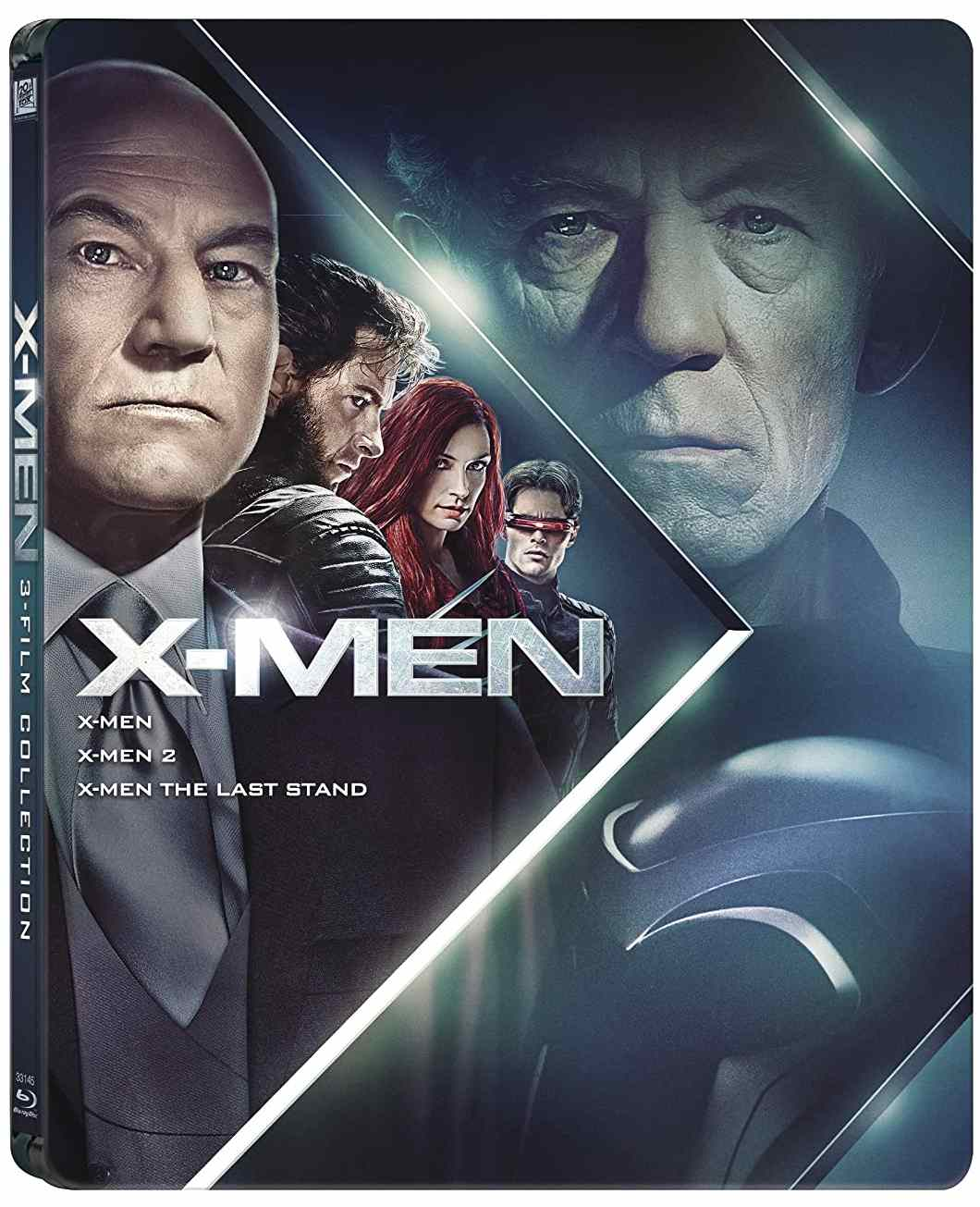 X-MEN TRILOGIE (X-Men, X-Men 2, Poslední vzdor) - Blu-ray STEELBOOK
