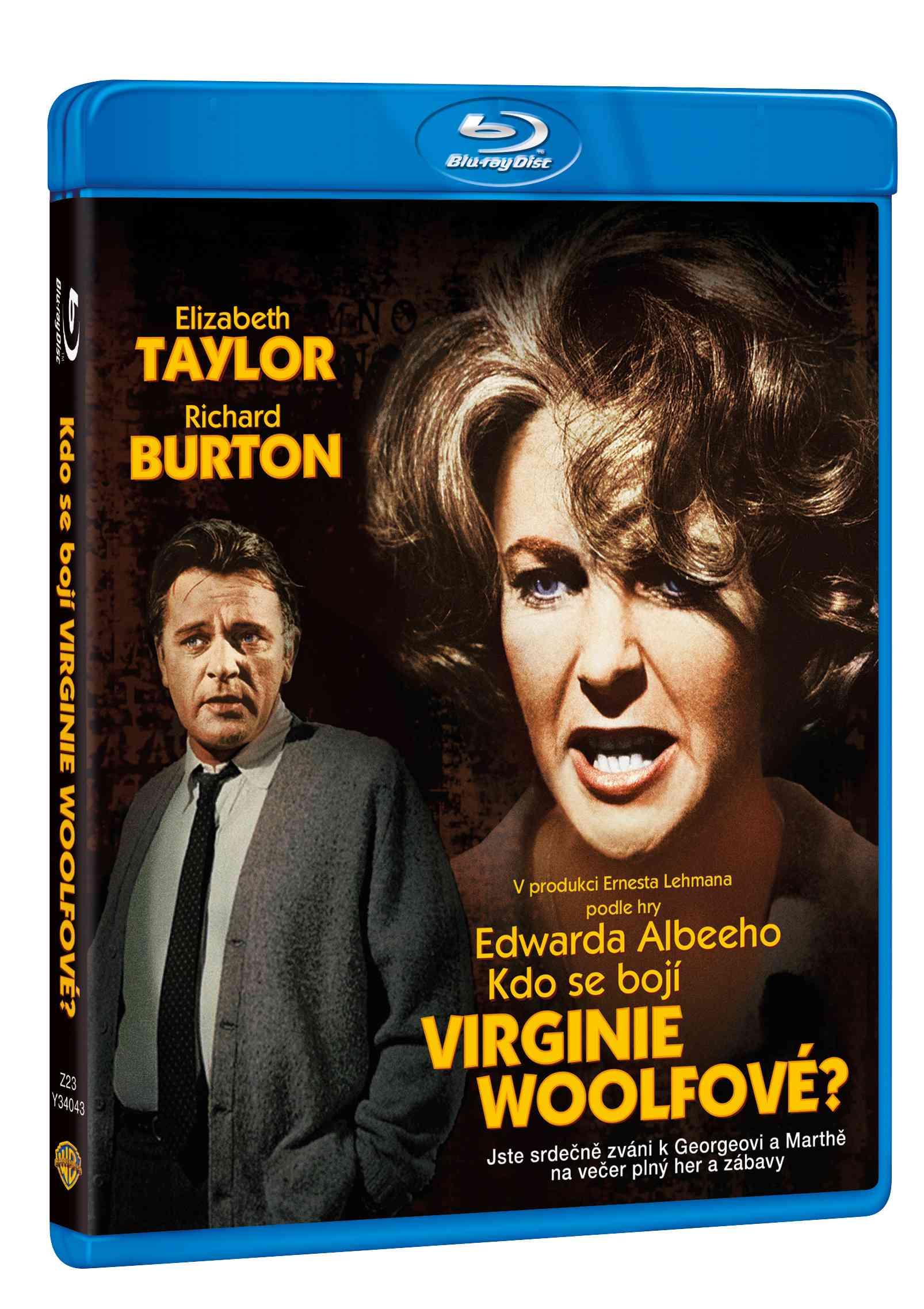KDO SE BOJÍ VIRGINIE WOOLFOVÉ? - Blu-ray