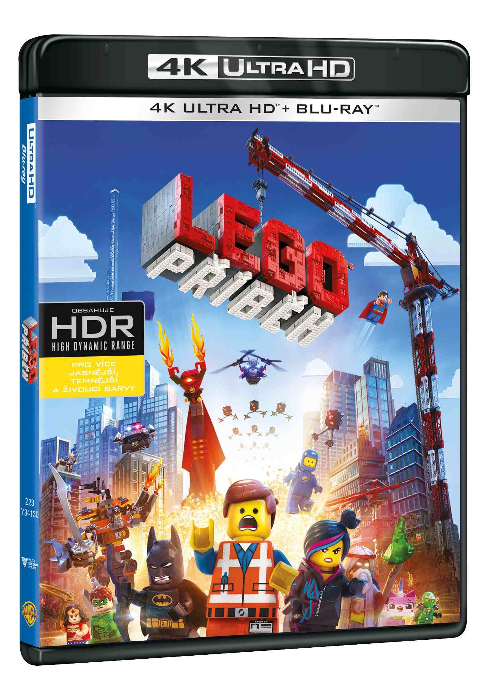 LEGO PŘÍBĚH (4K ULTRA HD) - UHD Blu-ray + Blu-ray (2 BD)