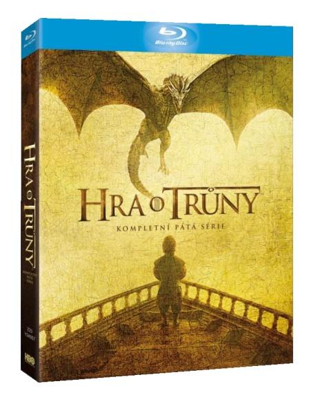 HRA O TRŮNY - 5. SÉRIE (4 BD) - Blu-ray