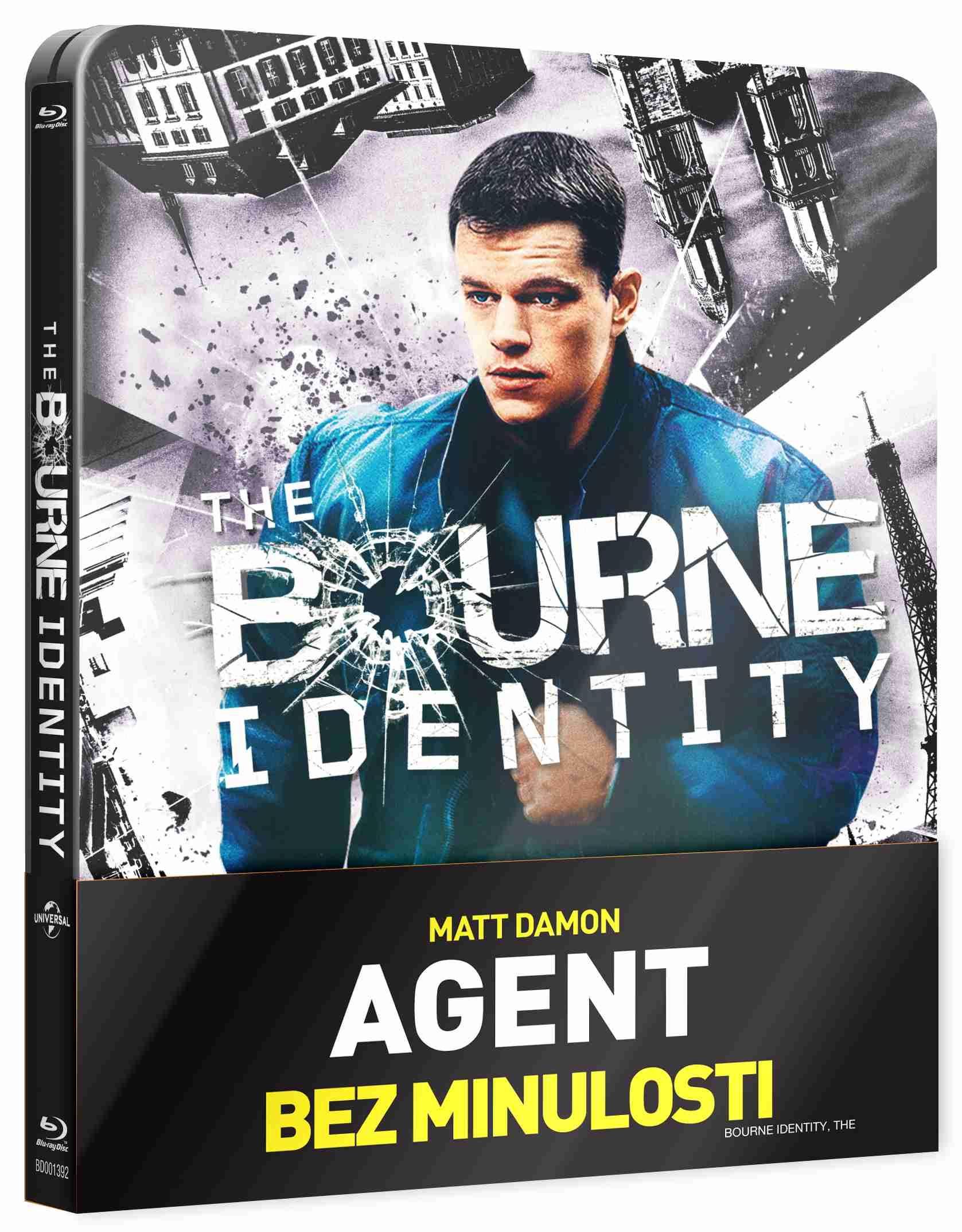 AGENT BEZ MINULOSTI - Blu-ray STEELBOOK
