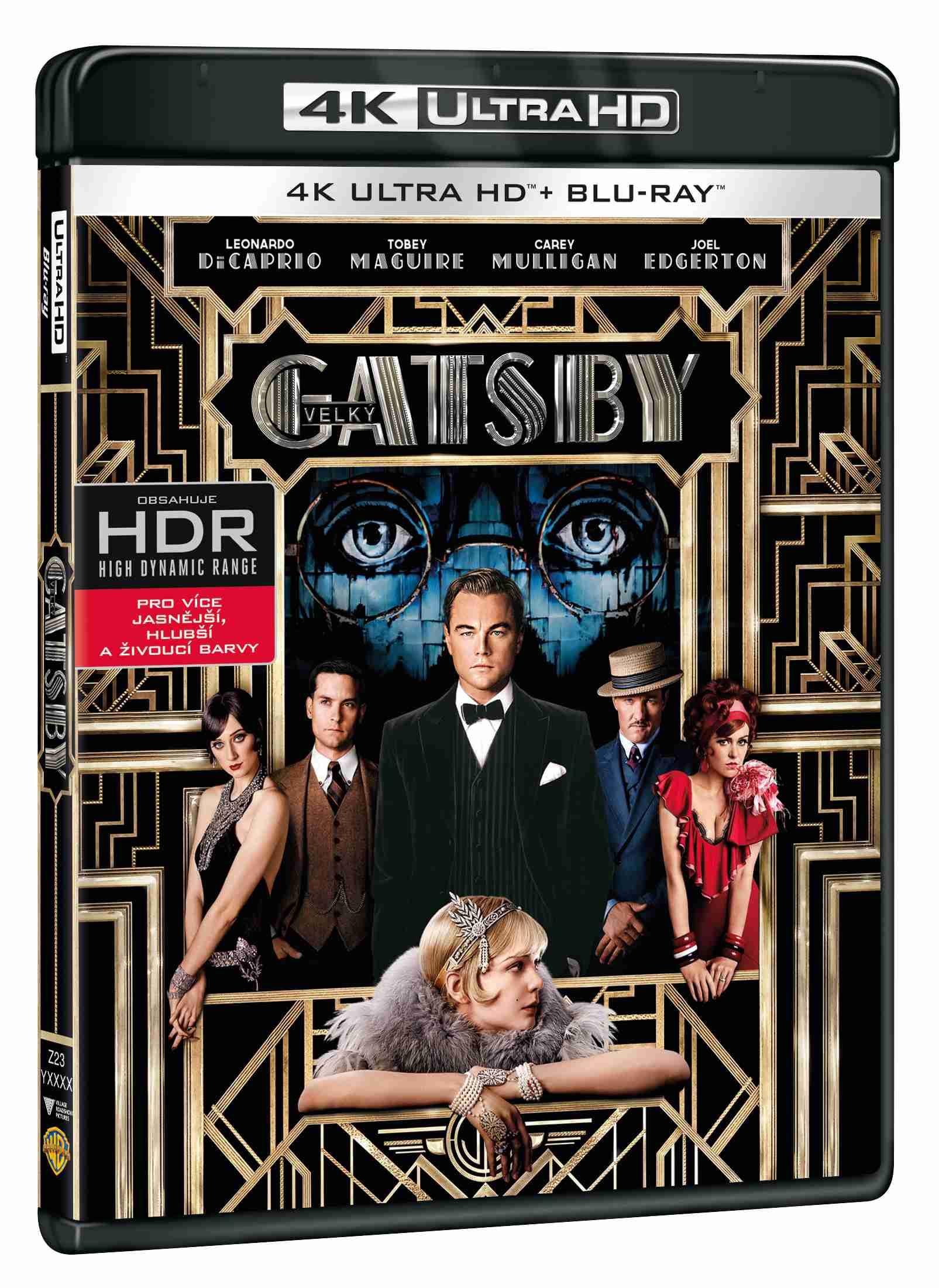 VELKÝ GATSBY (4K ULTRA HD) - UHD Blu-ray + Blu-ray (2 BD)