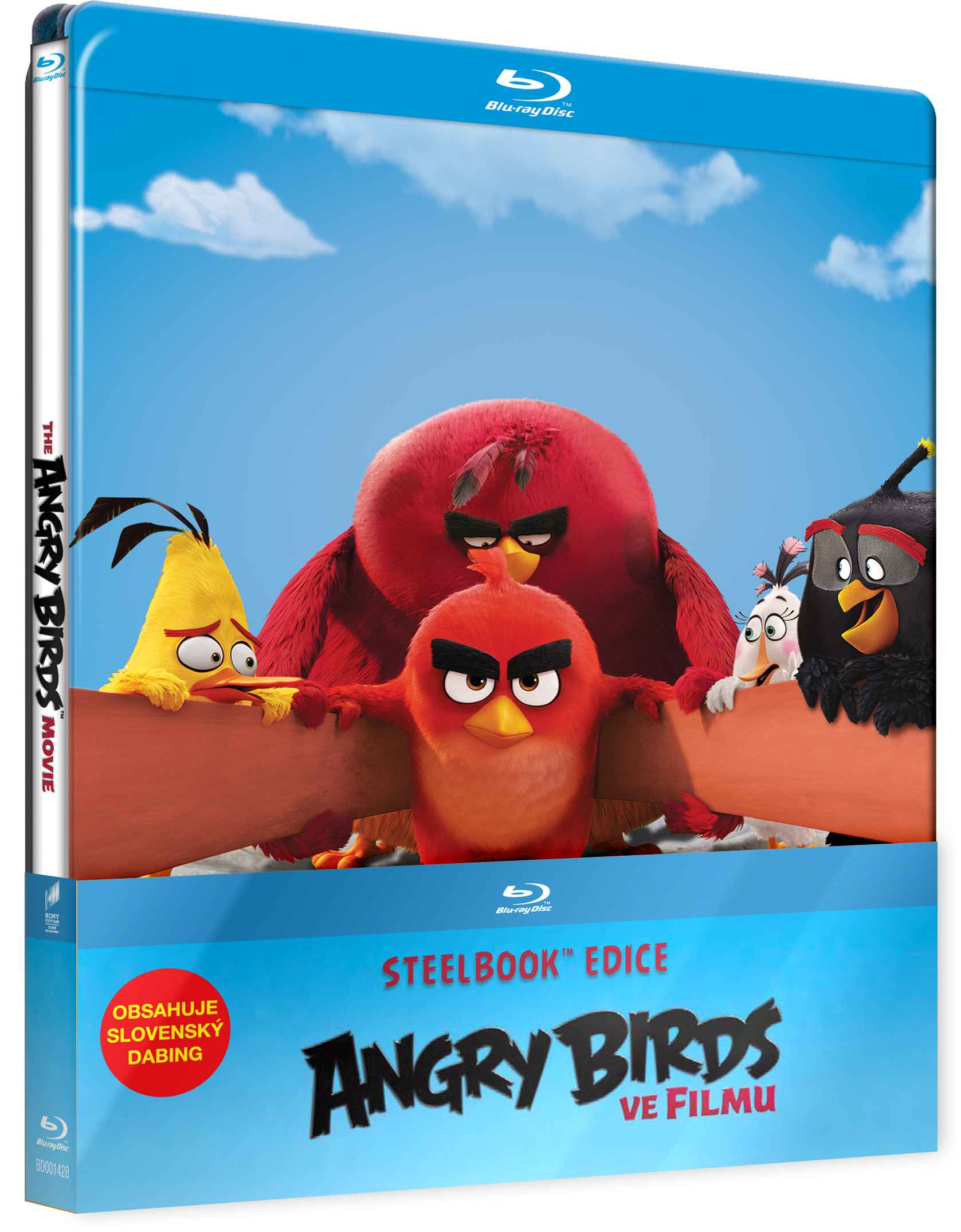 ANGRY BIRDS VE FILMU (2 BD) - Blu-ray STEELBOOK 3D + 2D