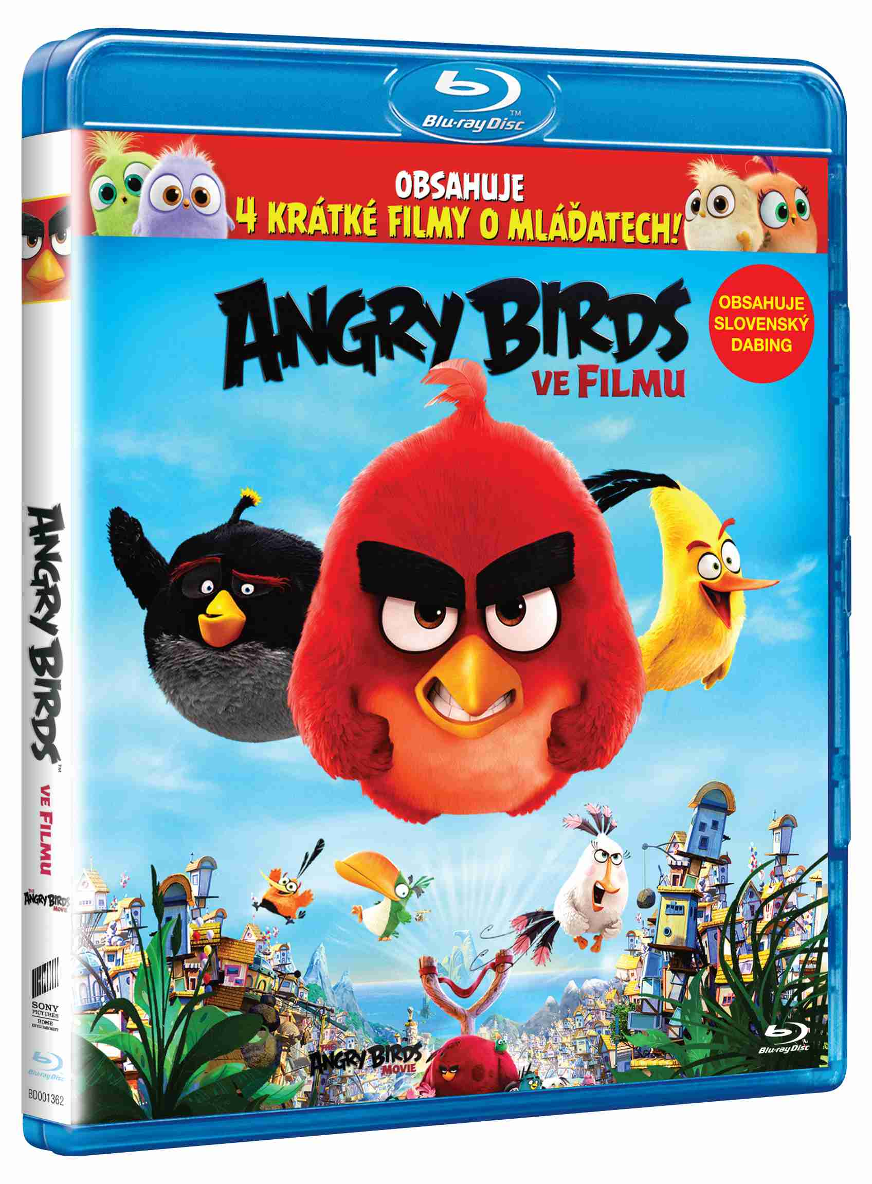 ANGRY BIRDS VE FILMU - Blu-ray 3D + 2D