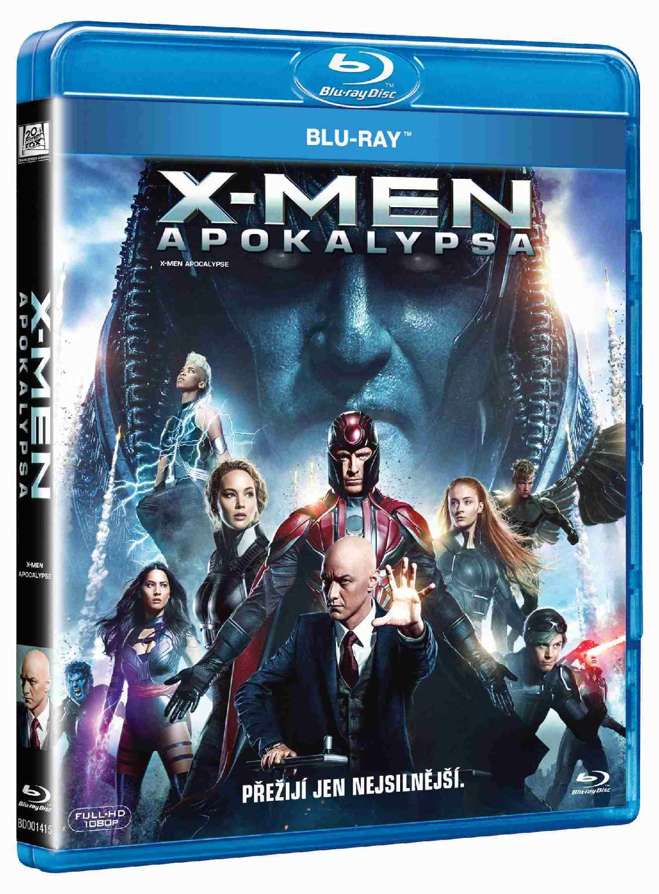 X-MEN: APOKALYPSA - Blu-ray