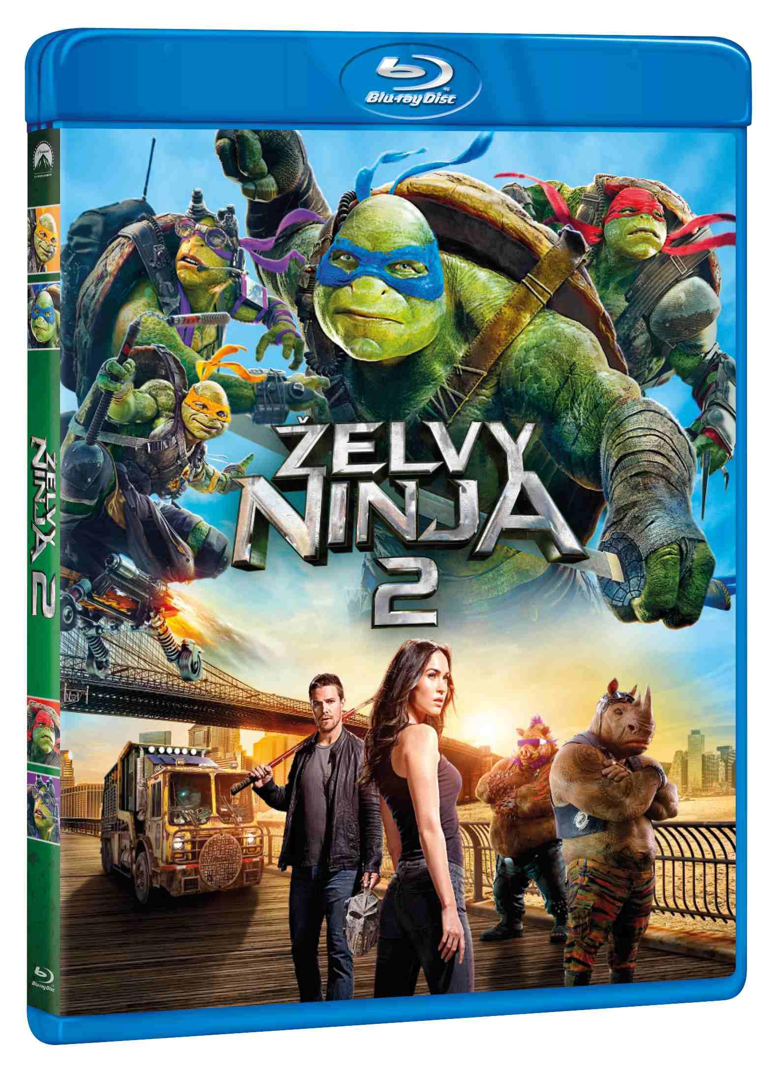 ŽELVY NINJA 2 - Blu-ray